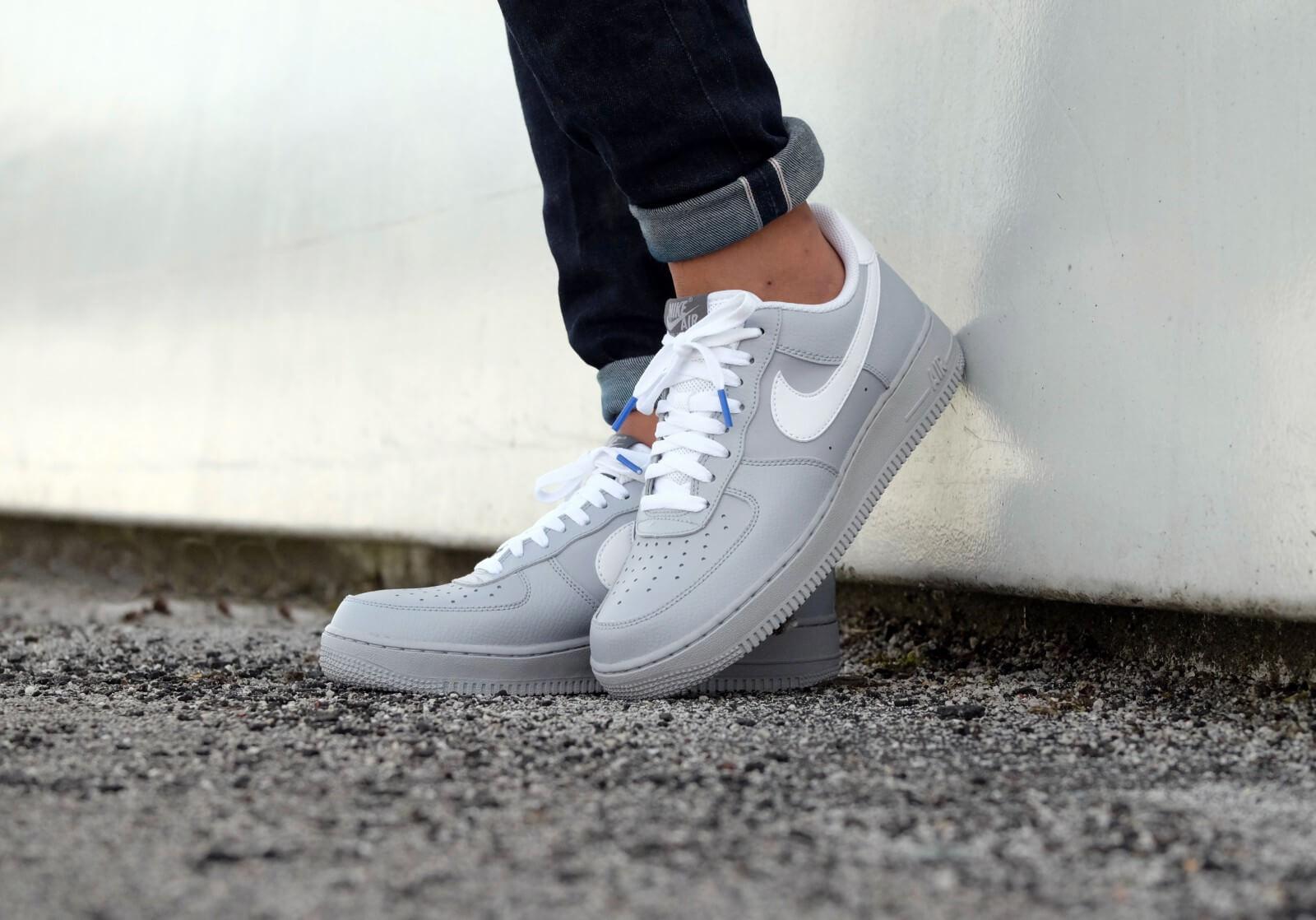 nike air force 1 wolf grey/white