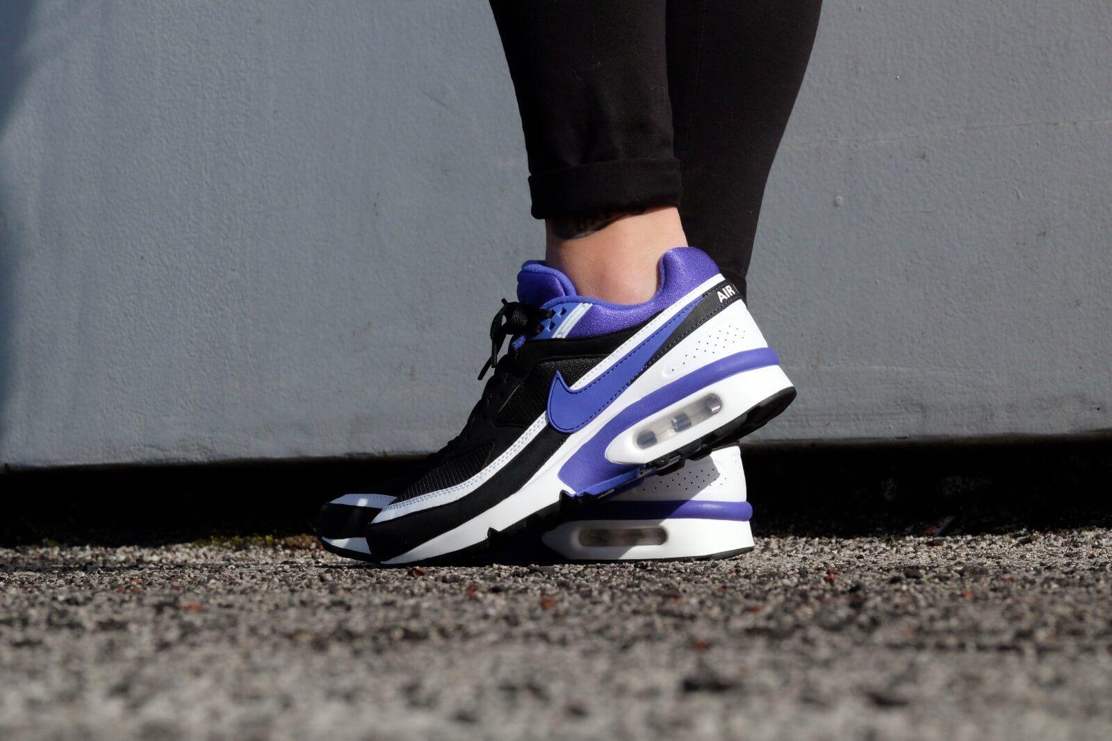 4e8a6f8077 ... Nike Air Max BW OG Black Persian Violet ...