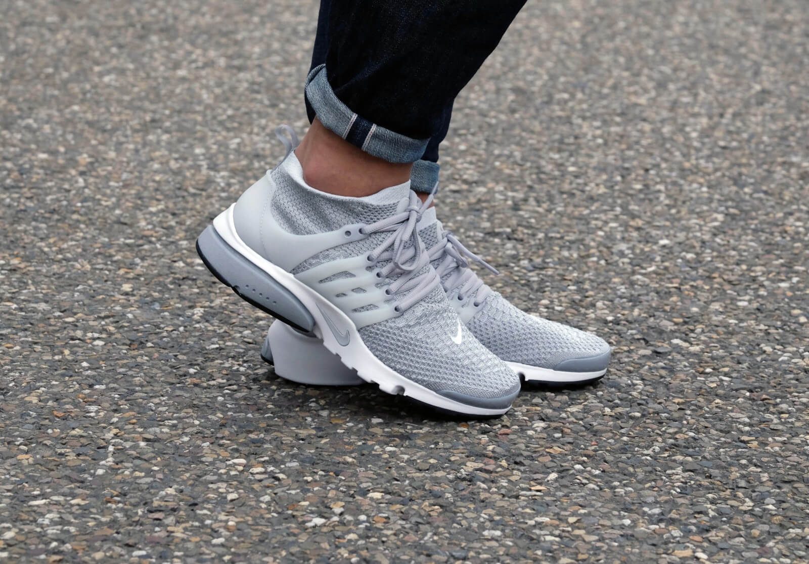 Nike Air Max Thea Ultra Flyknit Pure Platinum White Wolf