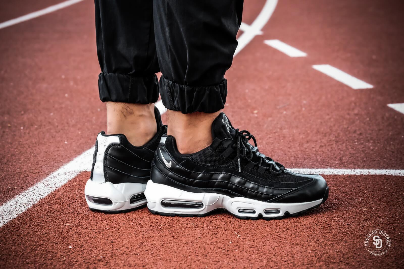 Nike Air Max 95 PRM Skull BlackChrome Off White 538416 008
