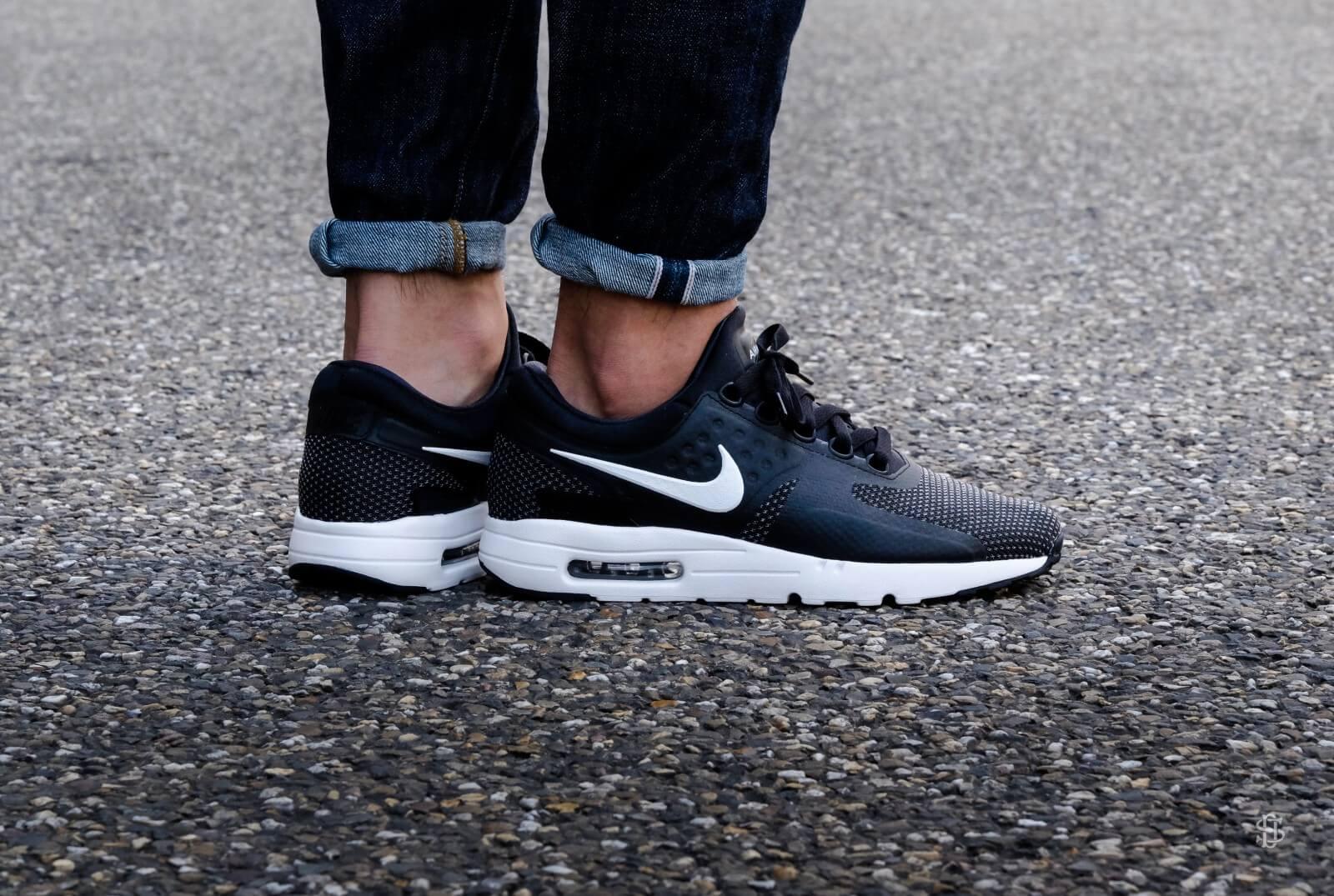 Nike Air Max Zero Essential Black White Dark Grey 876070 004