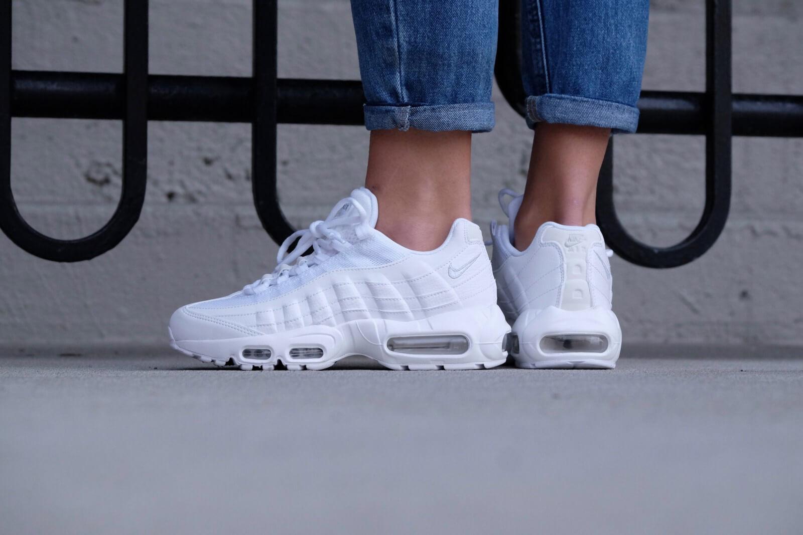 dde0c2dd099 ... promo code nike wmns air max 95 white white pure platinum 101d7 dd7b4