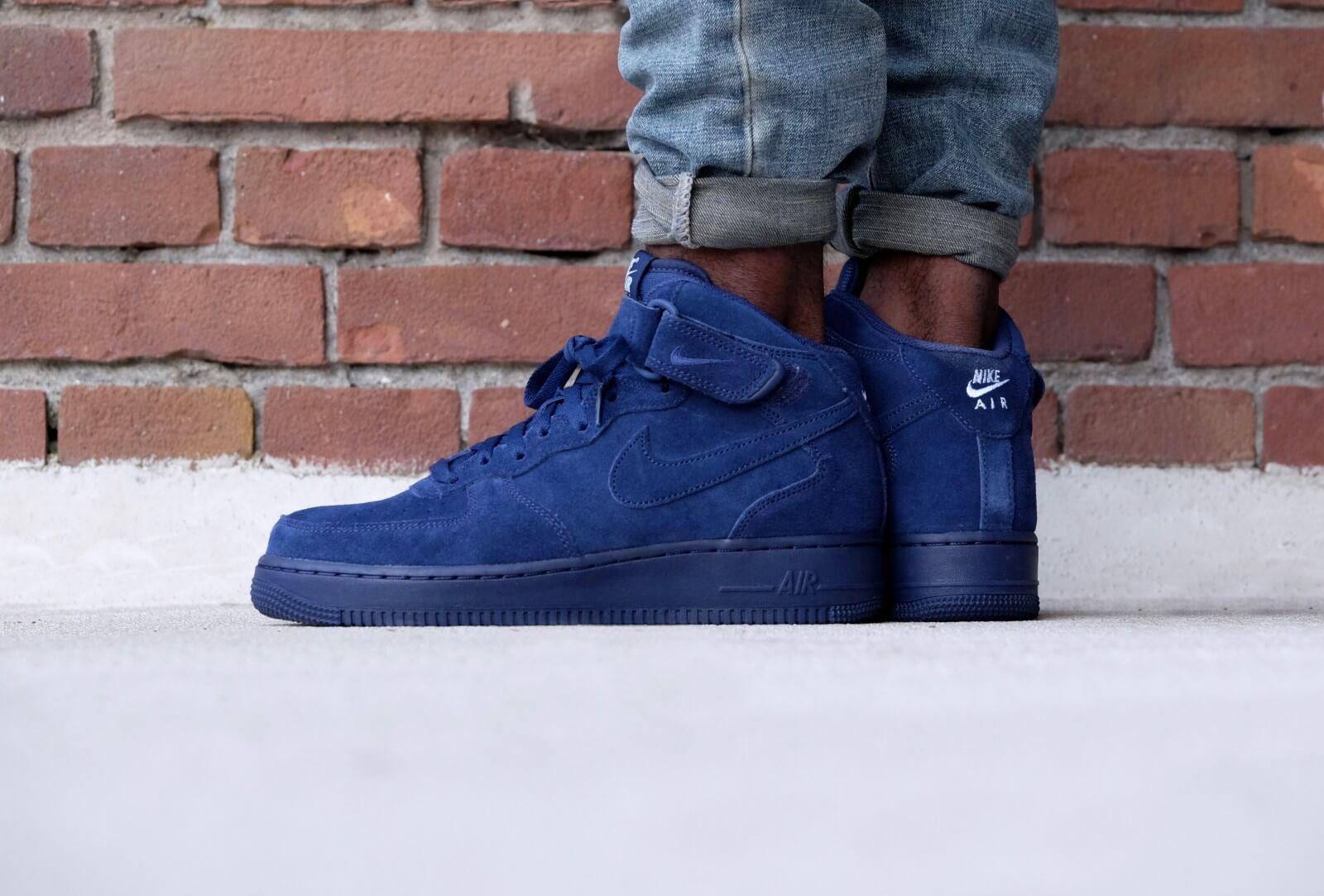 Nike Air Force 1 Mid '07 Binary blue