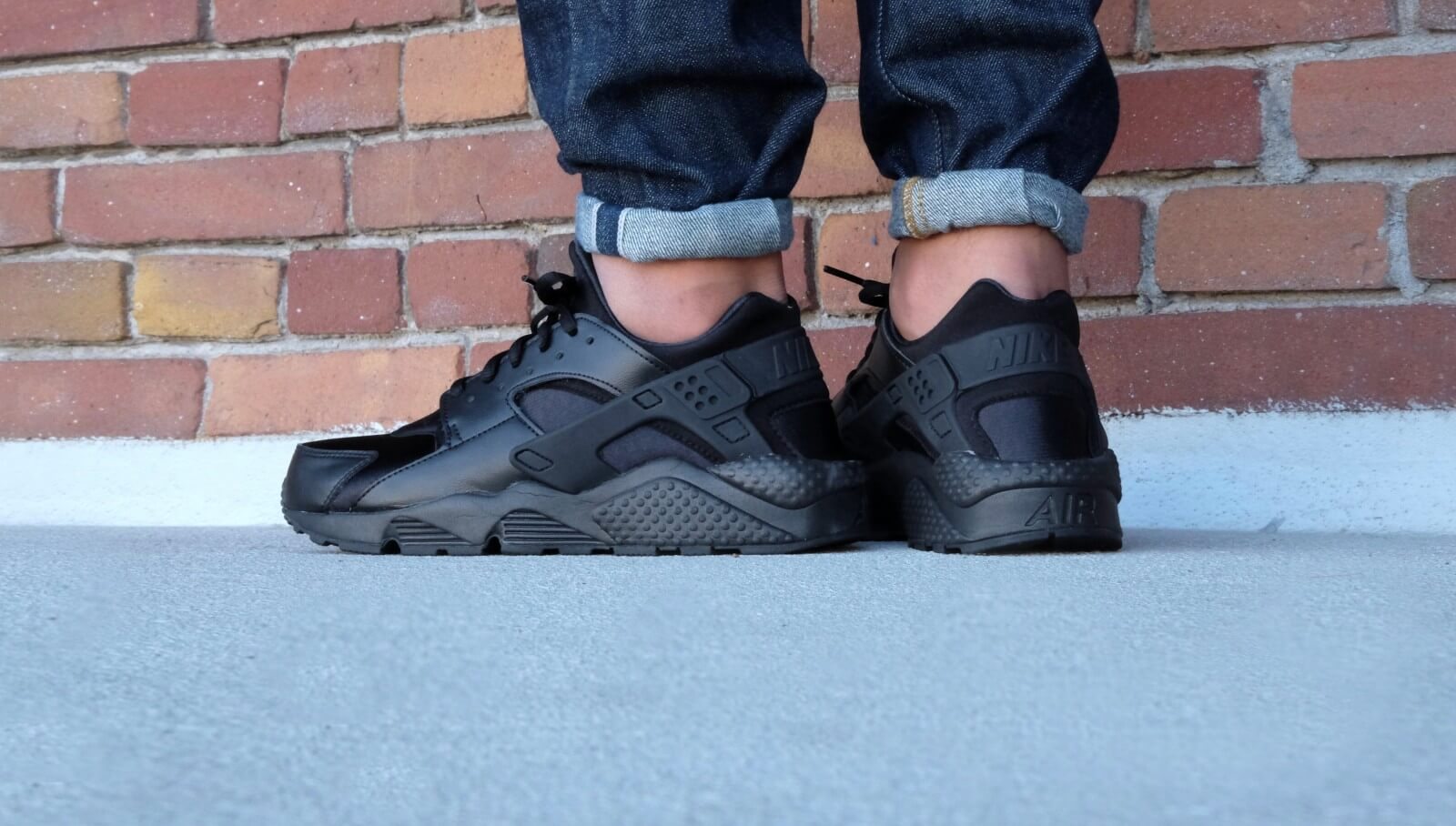 air huarache with jeans