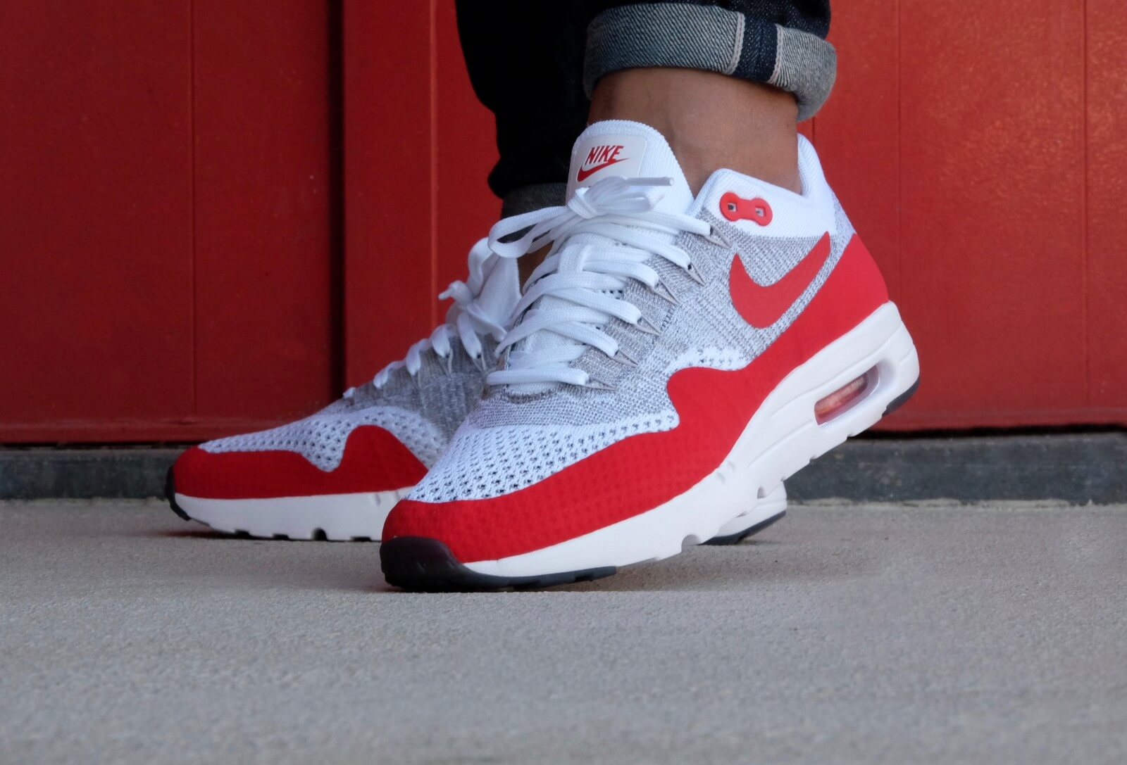 nike air max 1 ultra rood