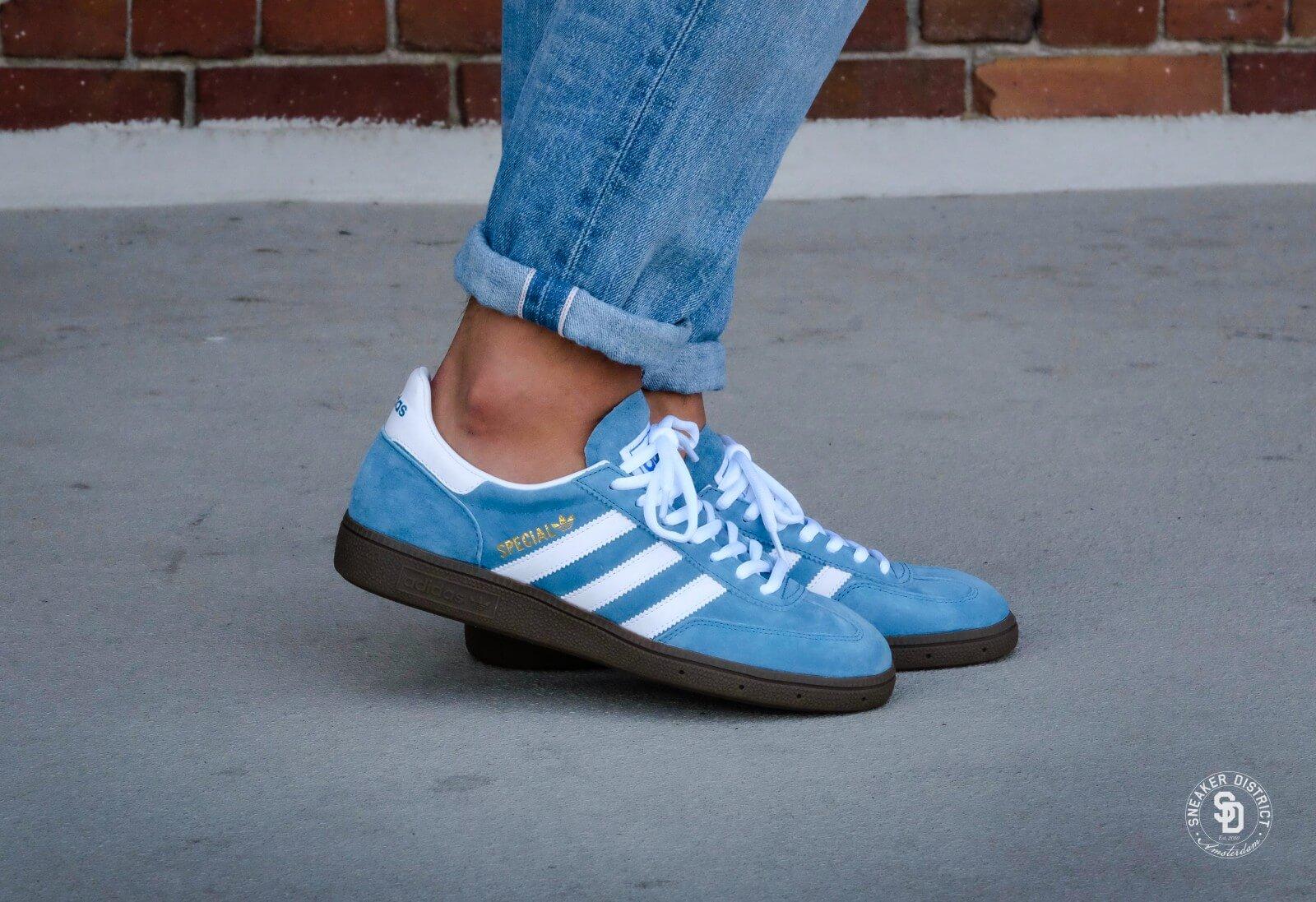 Adidas Handball Spezial Blue Footwear White Gum 033620