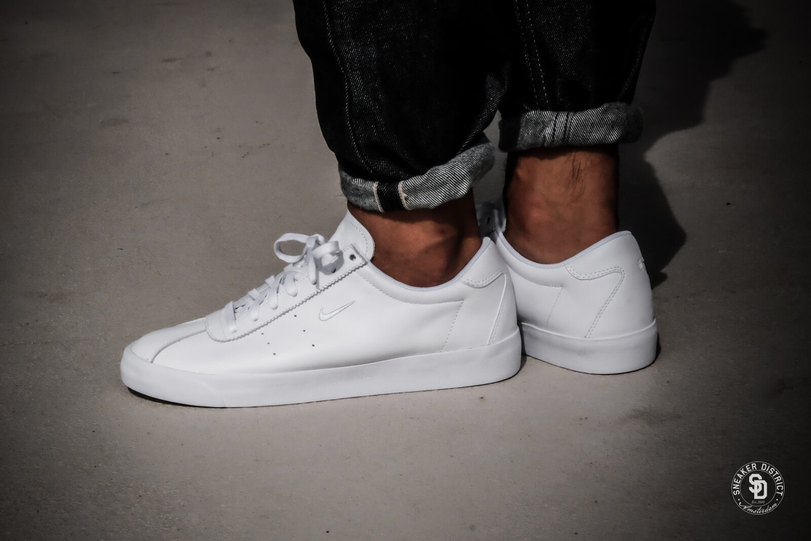 Nike Match Classic Leather WhiteWhite 917554 100