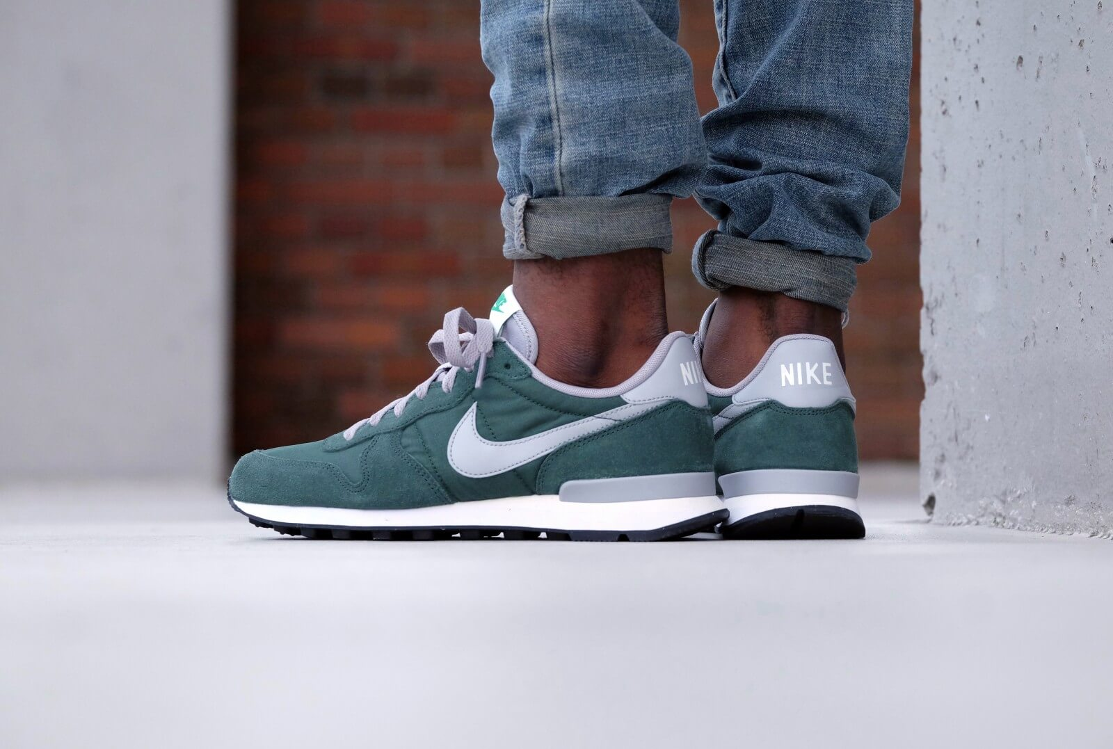 Nike Internationalist Gorge greenmatte silver grove green 828041 300