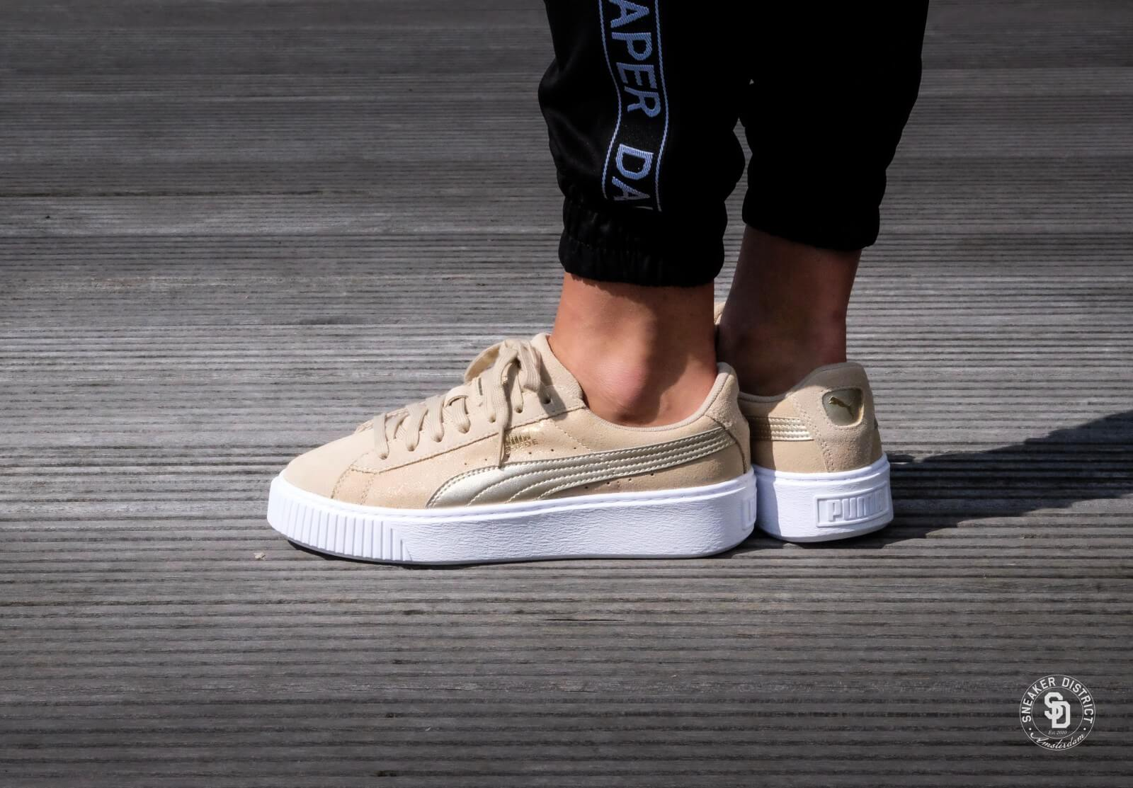 outlet for sale new style special for shoe Puma Suede Platform Safari Wn