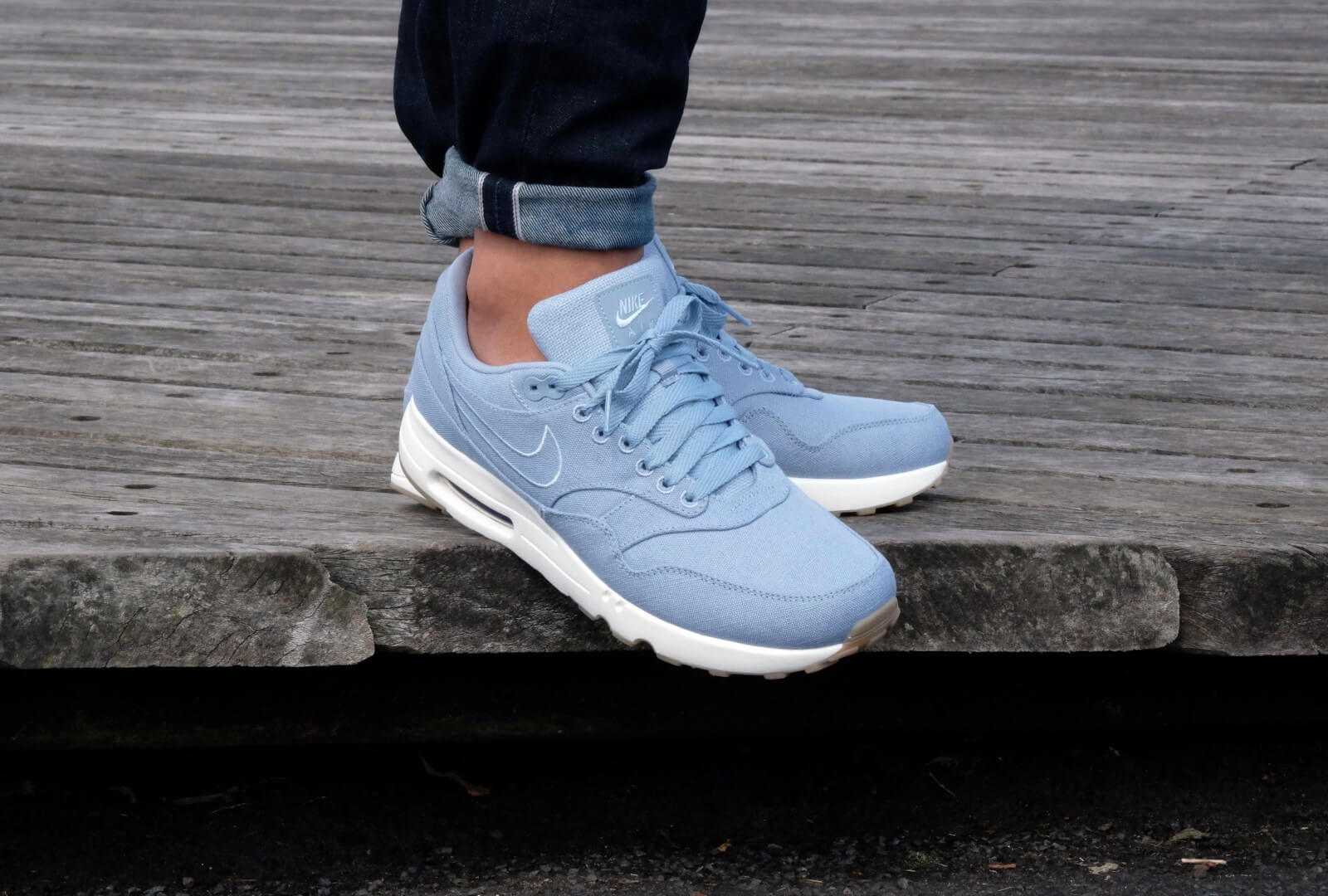 nike air max 1 ultra blauw