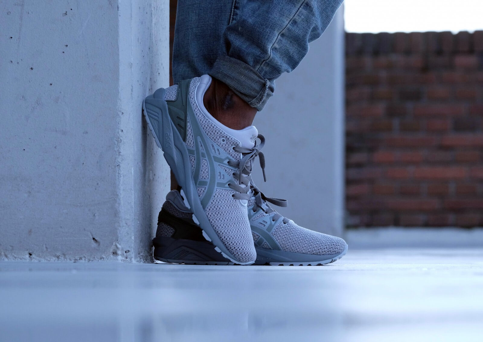 premium selection af695 dd4c7 asics agave green sneakers
