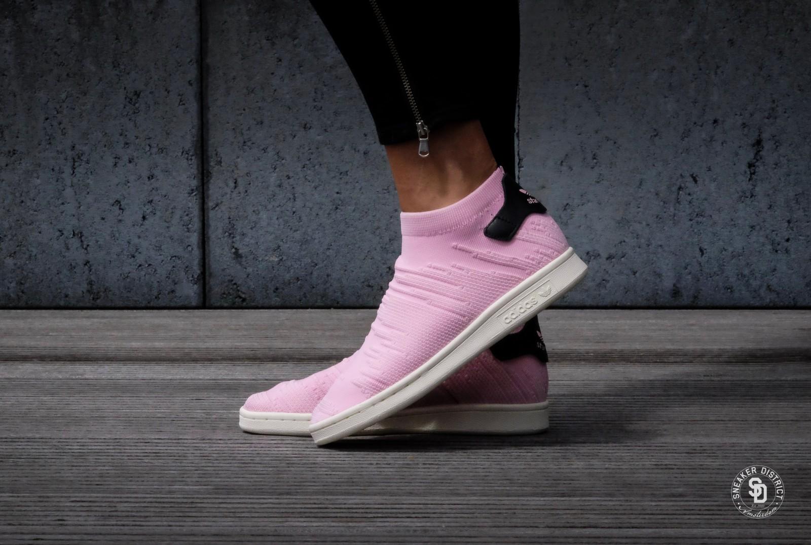 adidas stan smith primeknit roze