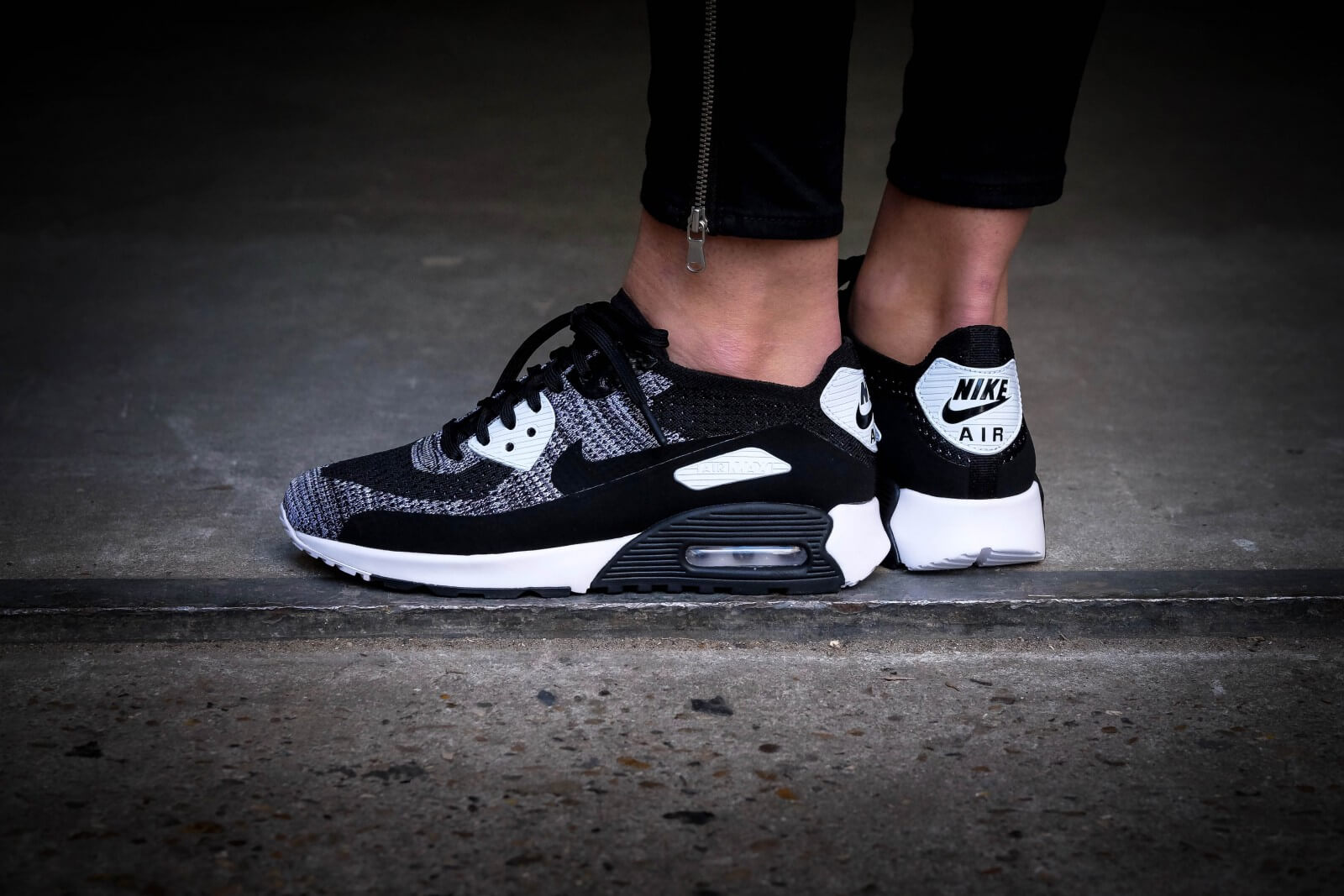 info for 7c715 12ed8 ... nike wmns air max 90 ultra 2.0 flyknit black black white anthracite