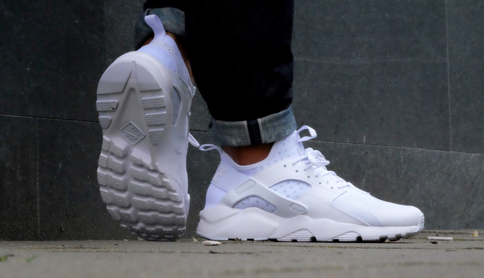Nike Air Huarache Ultra White White 819685 101