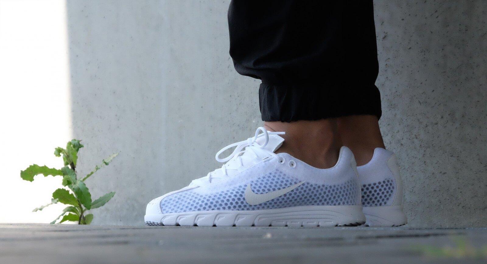 Nike Mayfly Leather PRM White/White