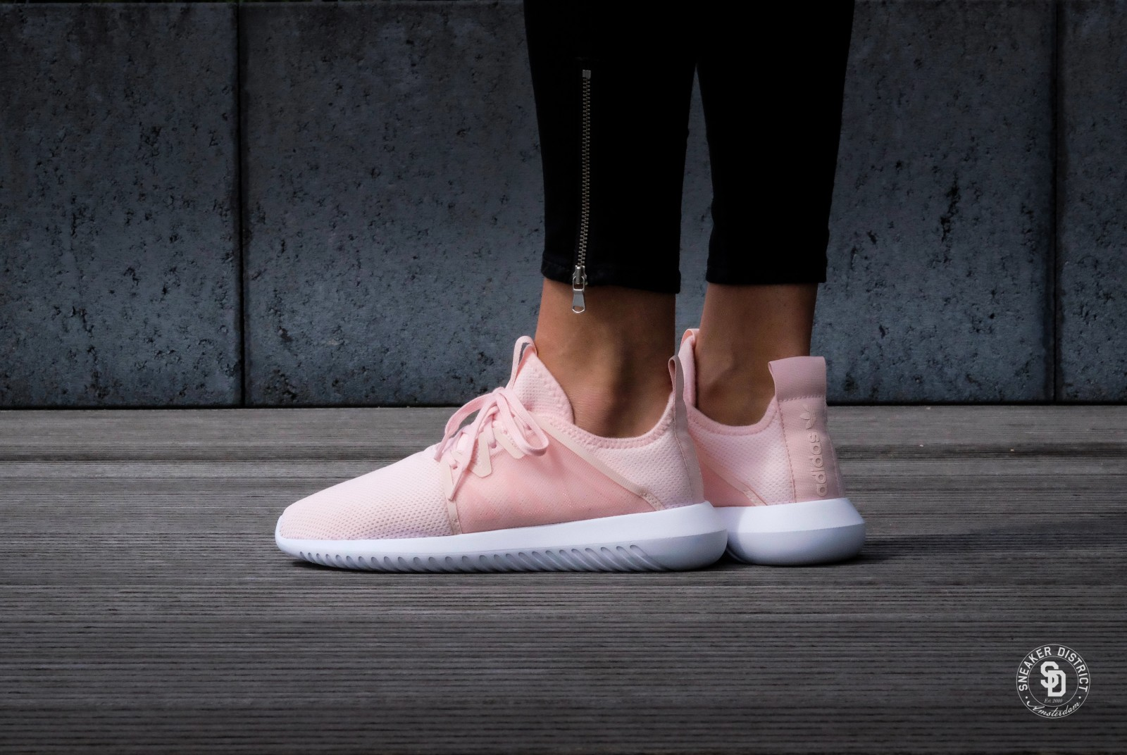 Adidas Originals Women's Tubular Viral 2 Pink/White BY2122