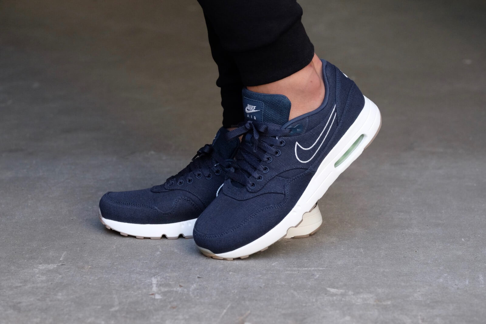 Nike Air Max 1 Ultra 2.0 Textile Armory Navy/Armory Navy-Sail-Fresh Mint -  898009-400
