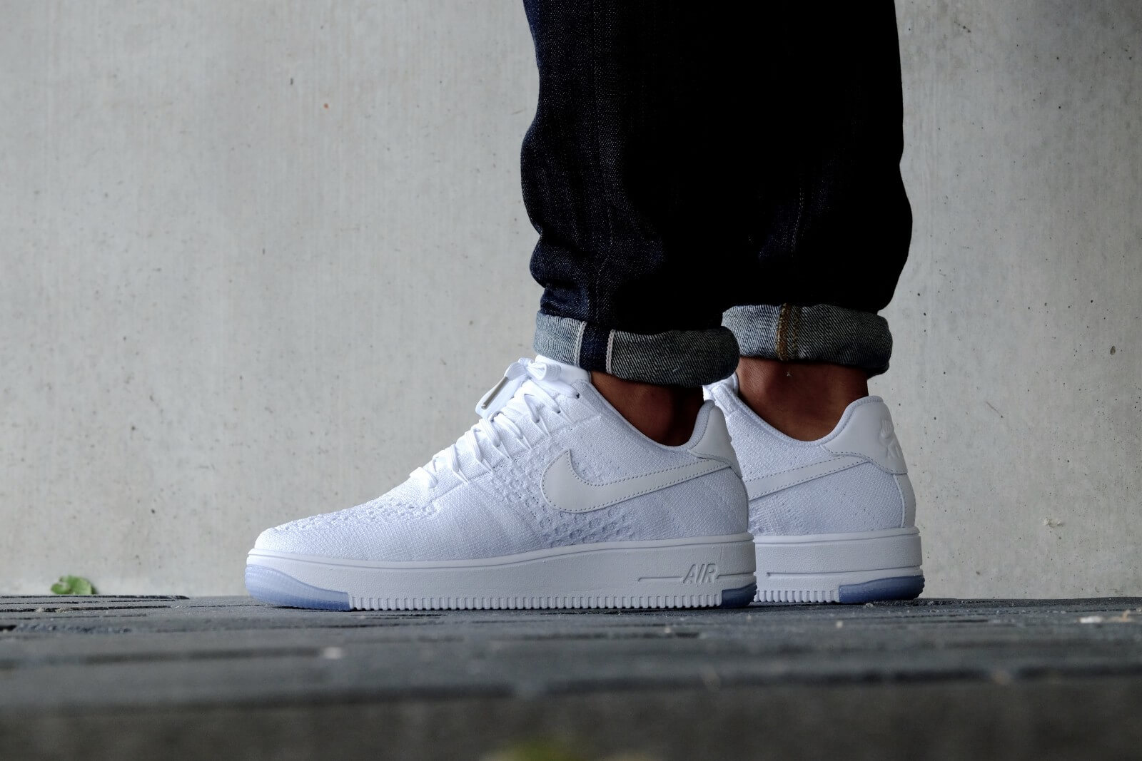 a07ed6667 ... WhiteIce Nike WMNS Air Force 1 Flyknit Low White White - 820256-101 ...