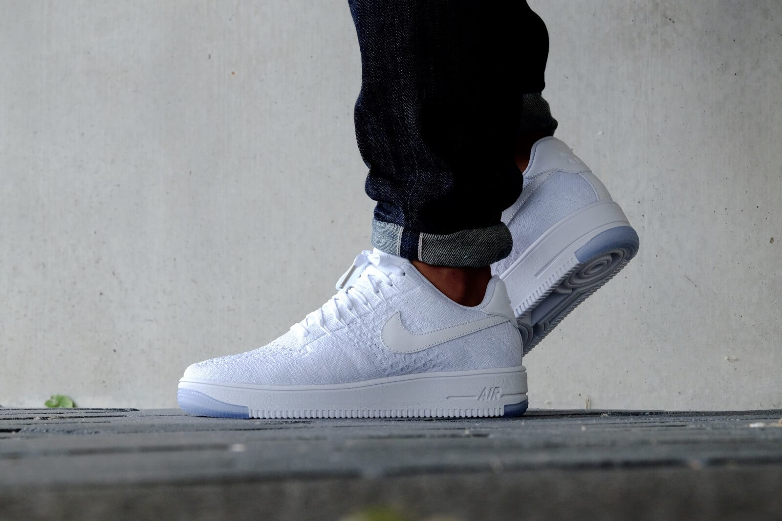 Nike WMNS Air Force 1 Flyknit Low White/ White