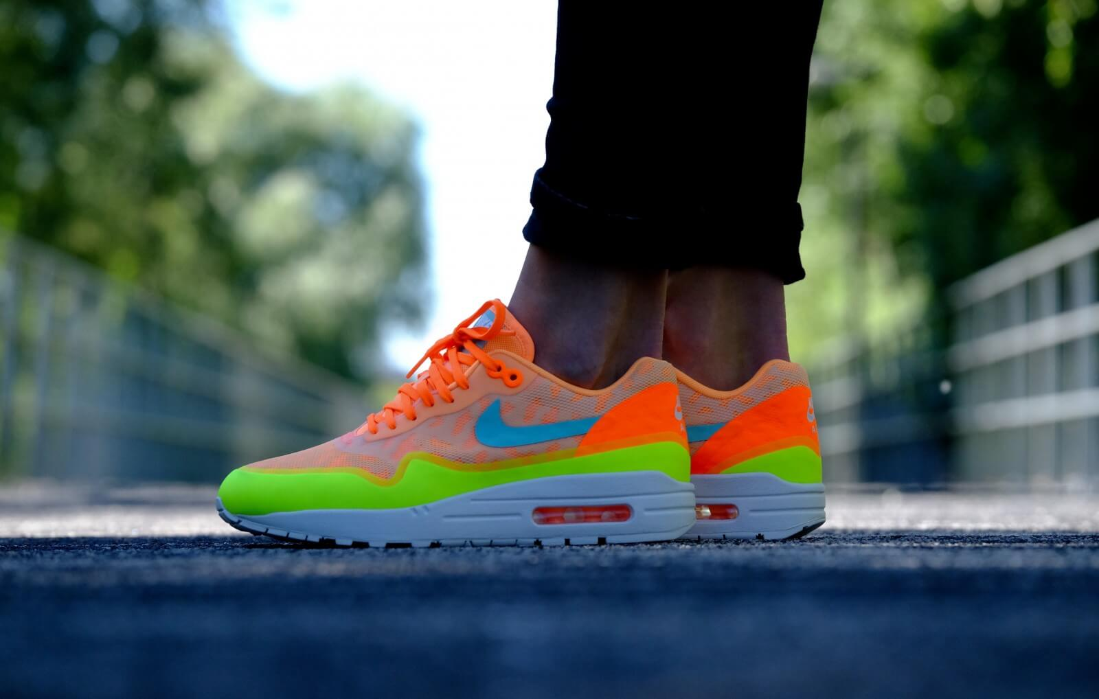 Nike Wmns Air Max 1 NS Peach Cream Hyper Turquoise 844982 800