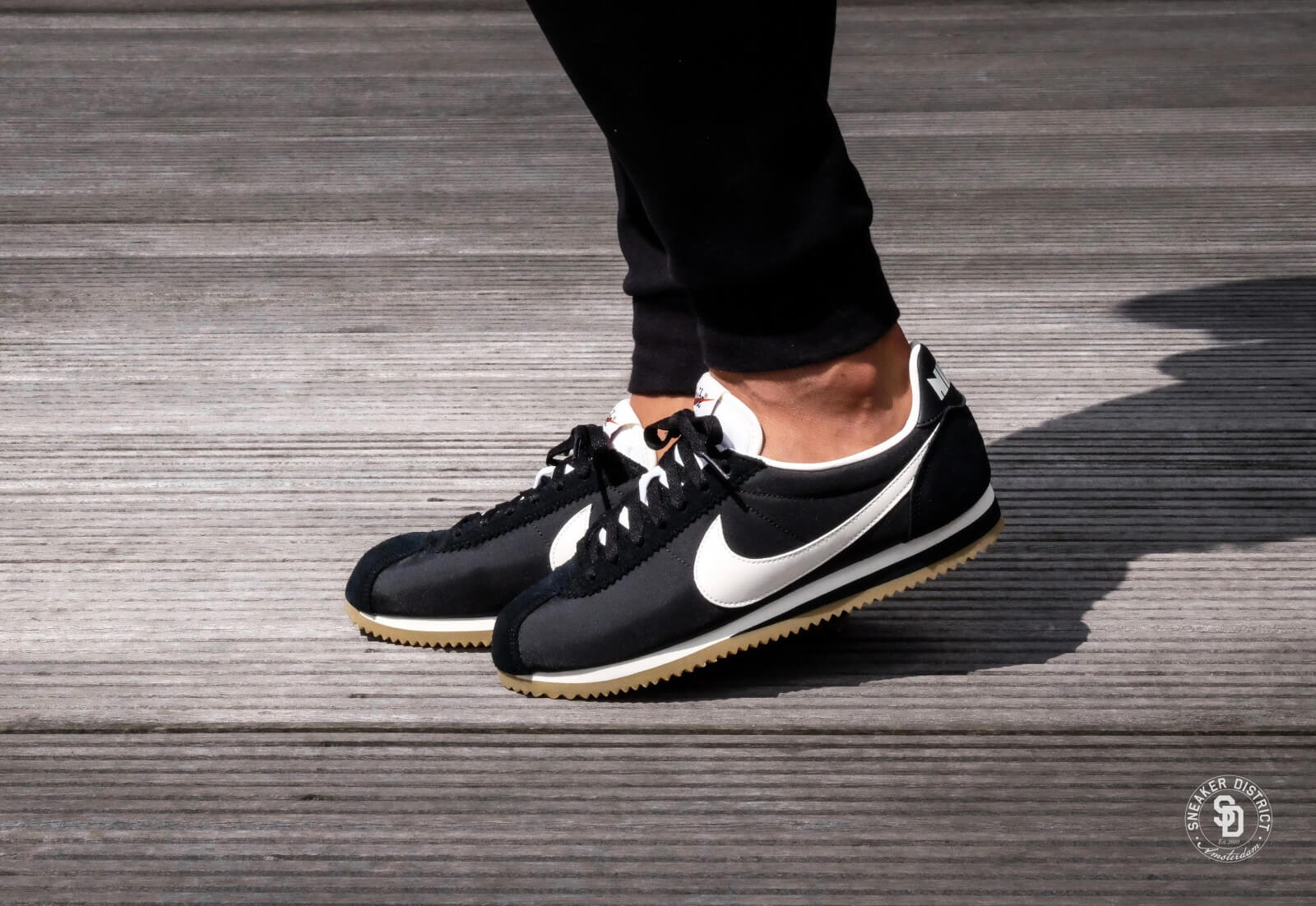 Nike Classic Cortez Nylon Premium Black
