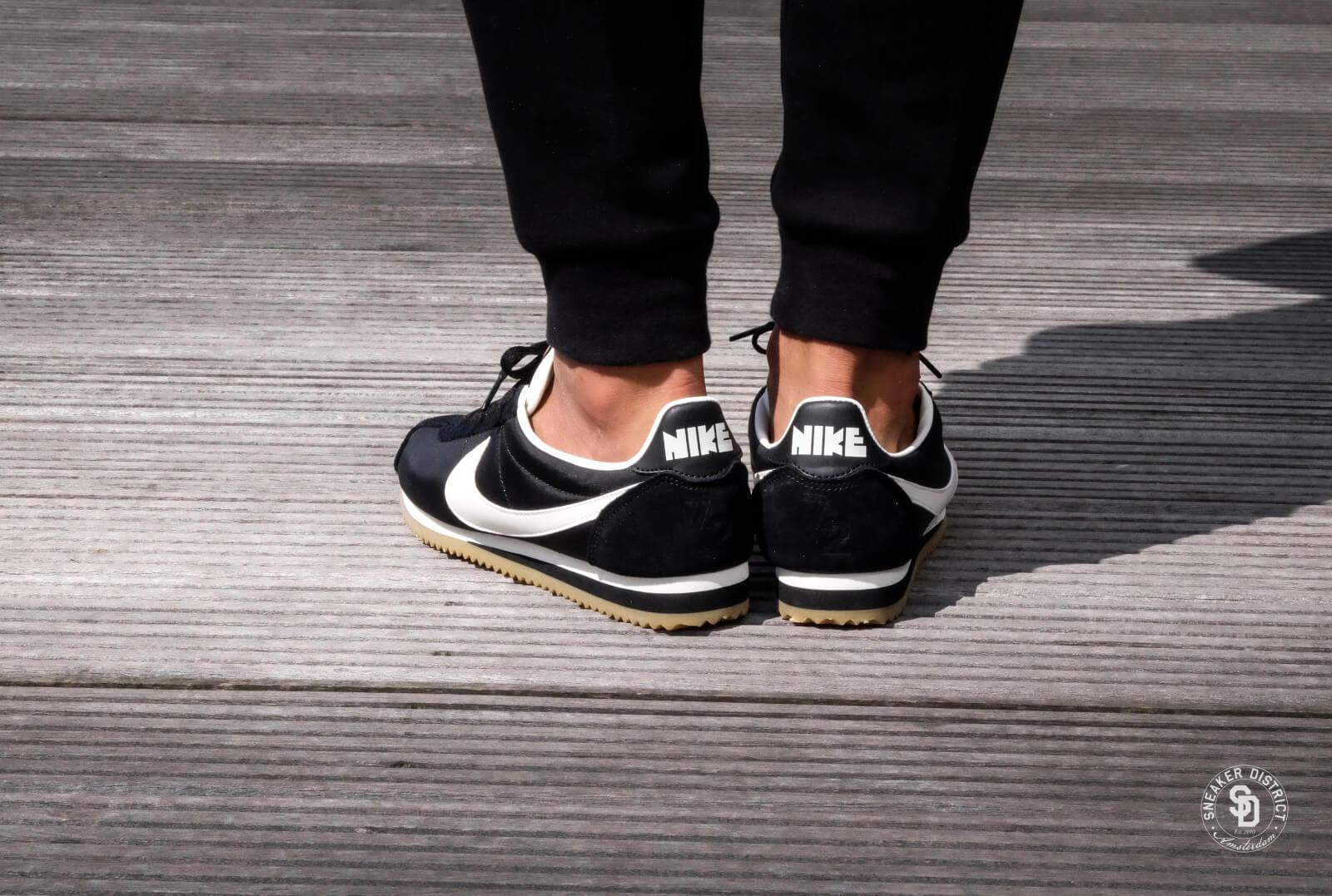 Nike Classic Cortez Nylon Premium BlackSail Gum 876873 002