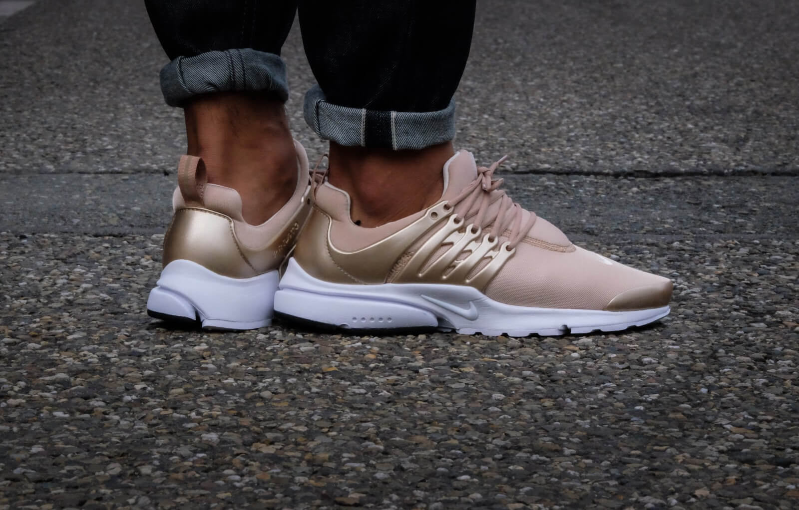 Nike Air Presto Premium Natural Blur White
