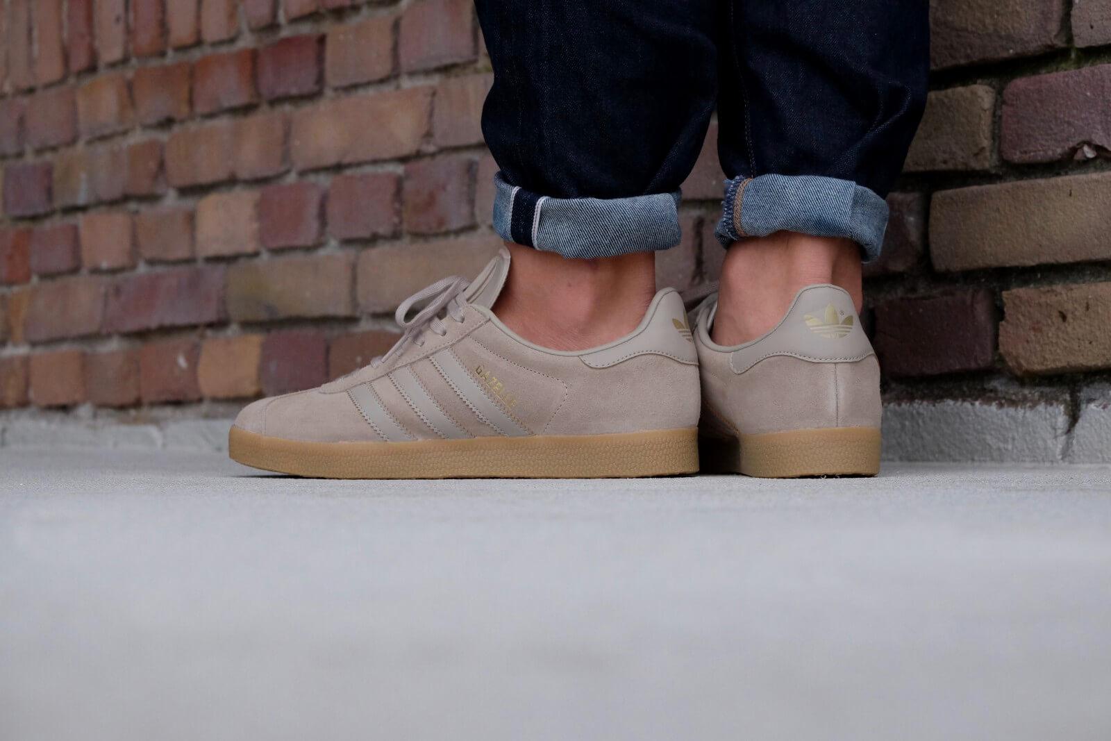 adidas gazelle with gum