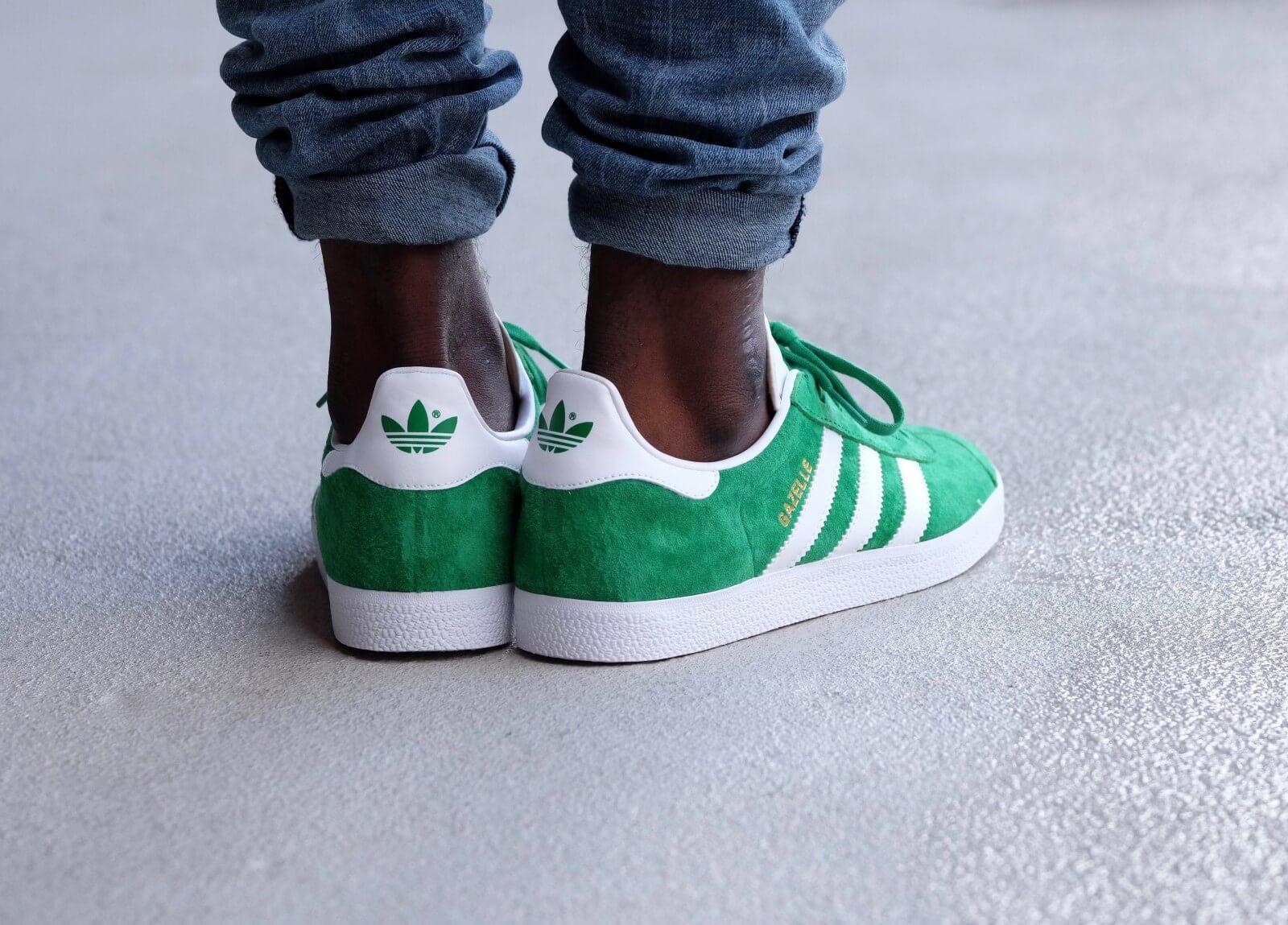 Adidas Gazelle Green/White - BB5477