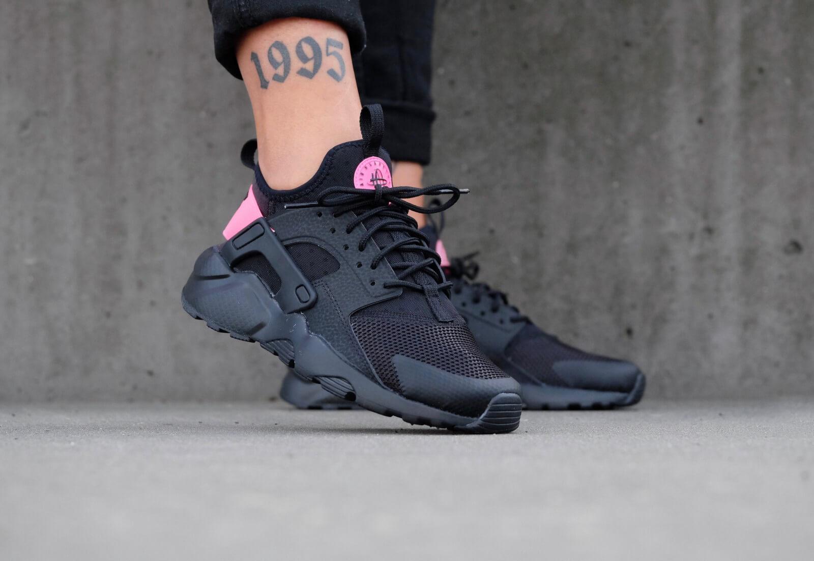 Nike Air Huarache Ultra GS Black/ Black-Hyper Pink