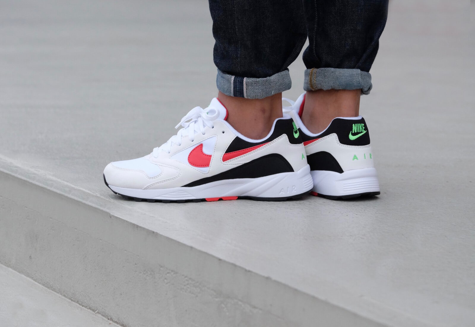 Nike Air Icarus Extra White/Atomic Red