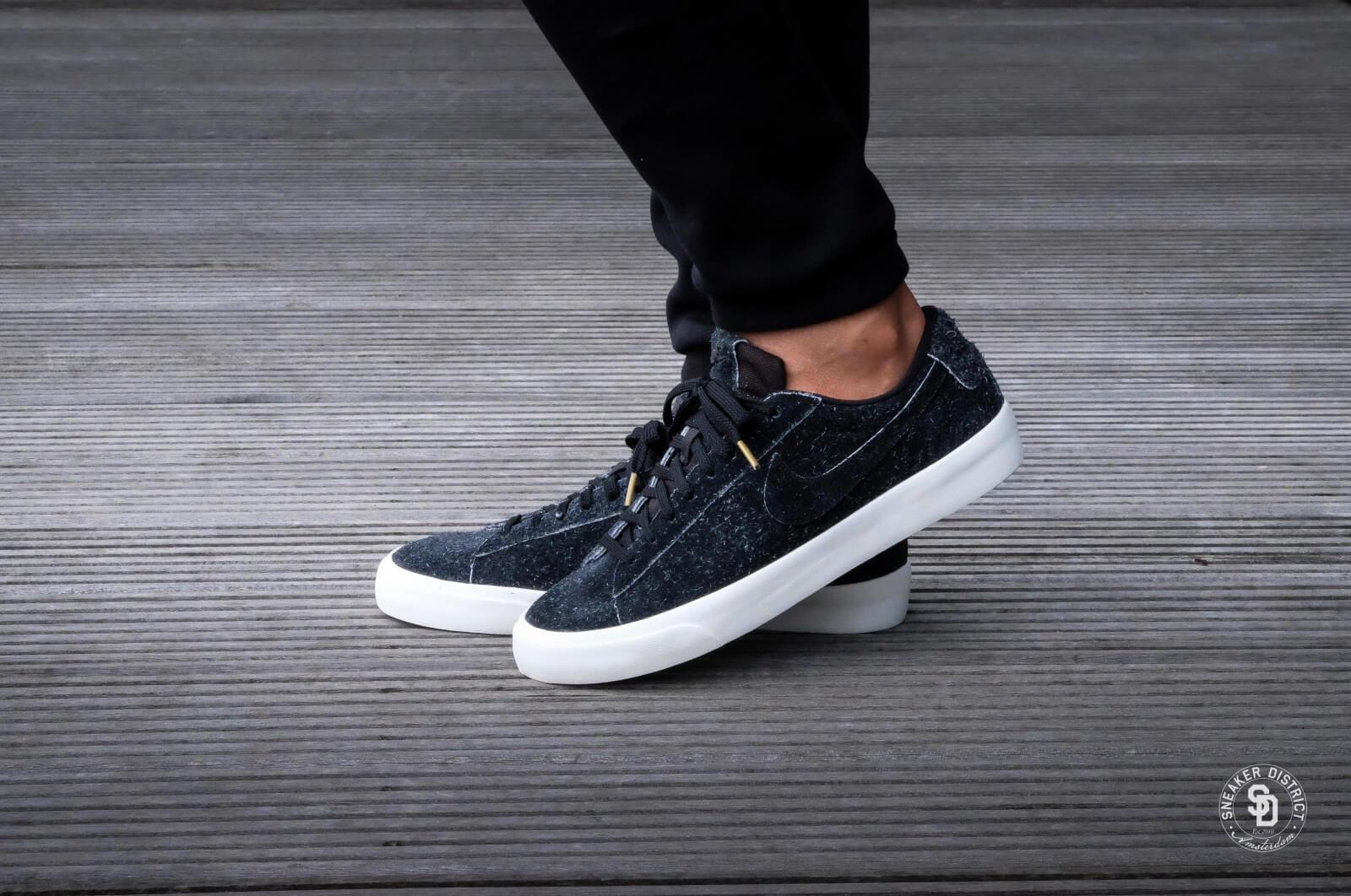 Transición Diplomático Cortar  Nike Blazer Studio Low Black/Gum - 880872-002