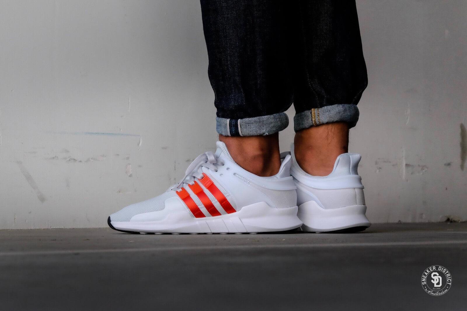 Adidas EQT Support ADV Clear Grey/Bold Orange/Footwear White