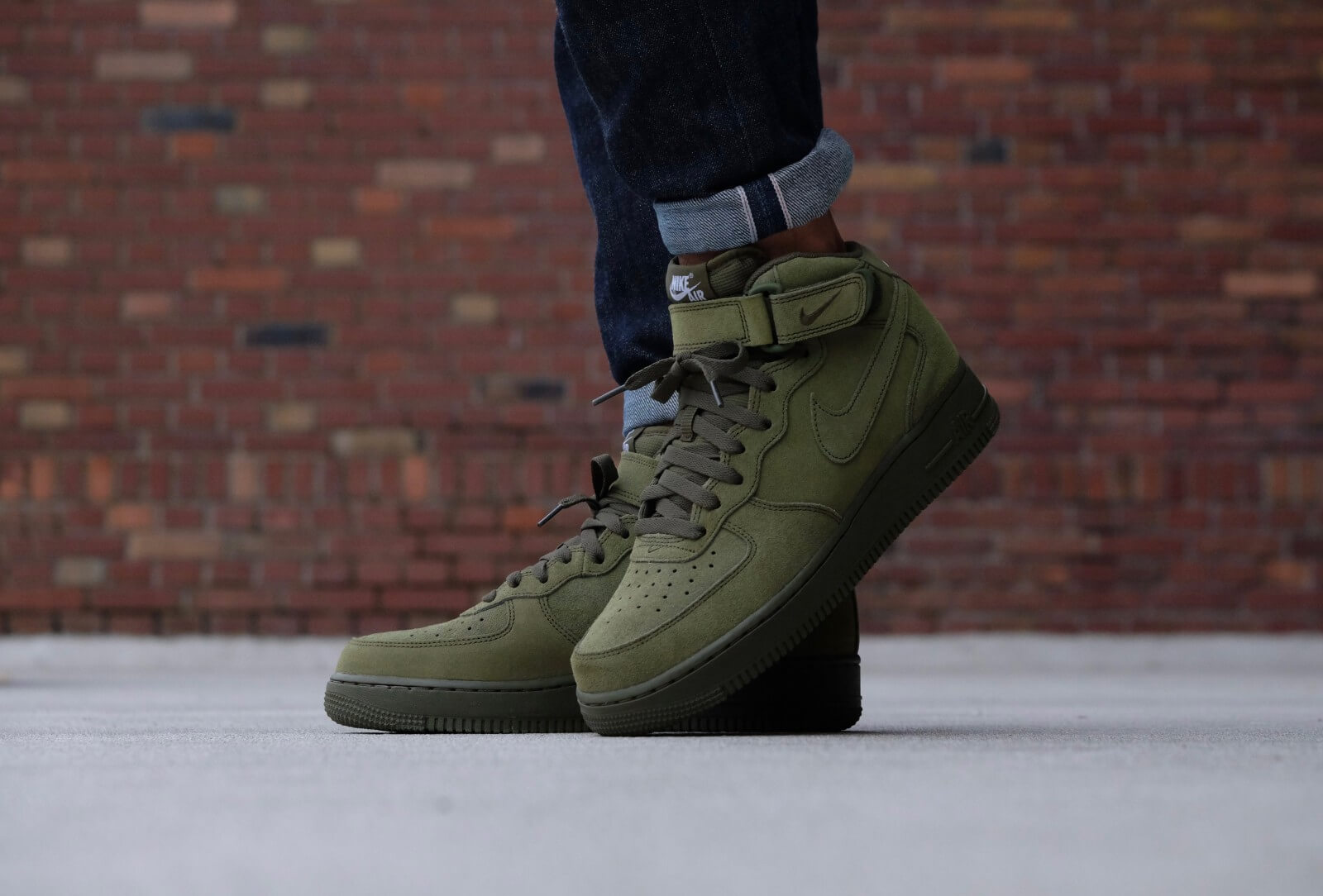 Nike Air Force 1 Mid '07 Legion Green