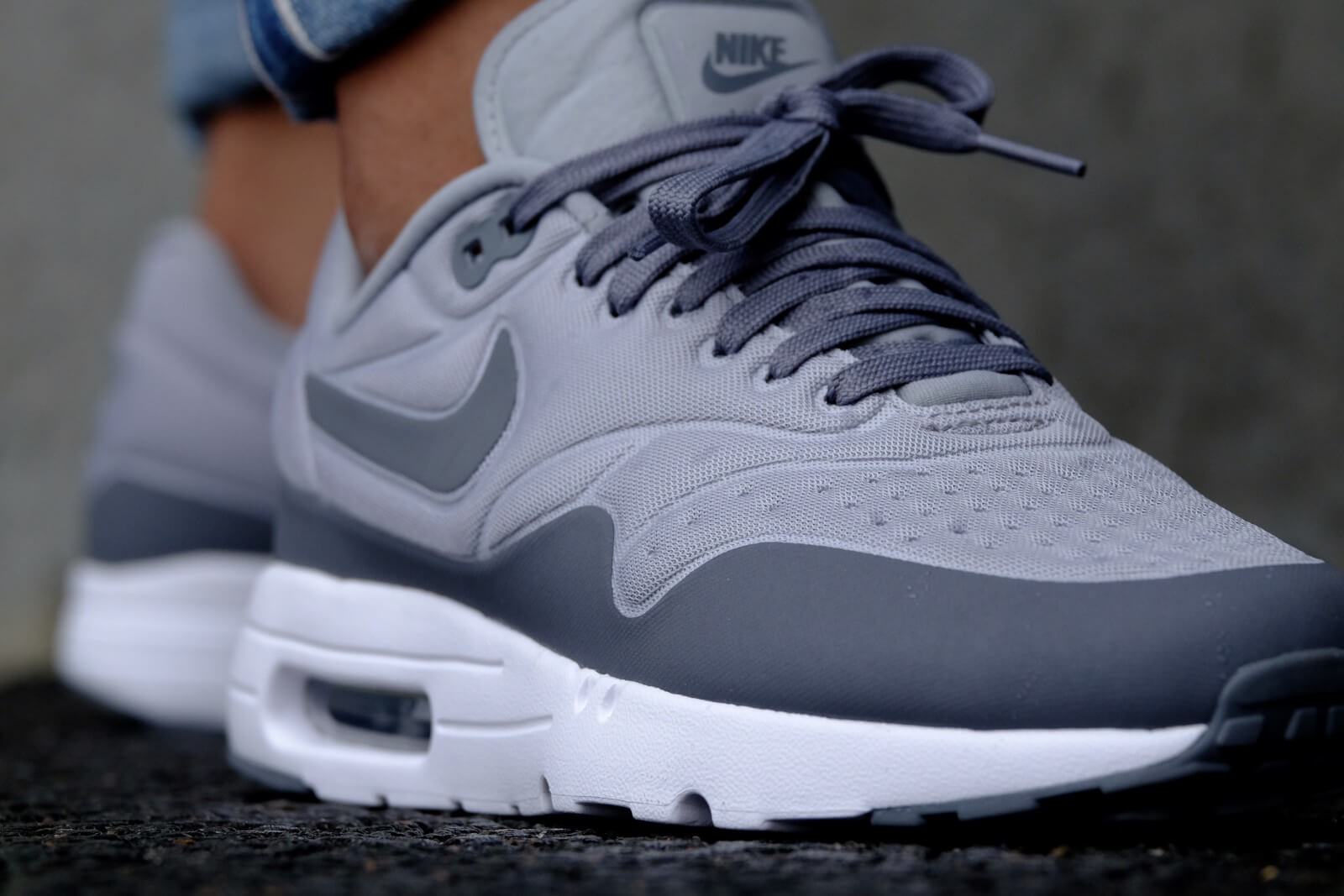 Nike Air Max 1 Ultra Special Edition Wolf Grey Cool Grey White 845038 002