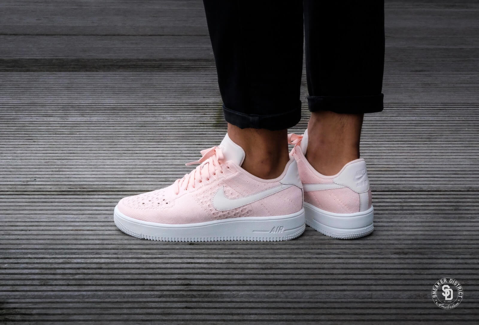 Nike Air Max 1 Ultra Flyknit | Rood | Sneakers | 843384 601