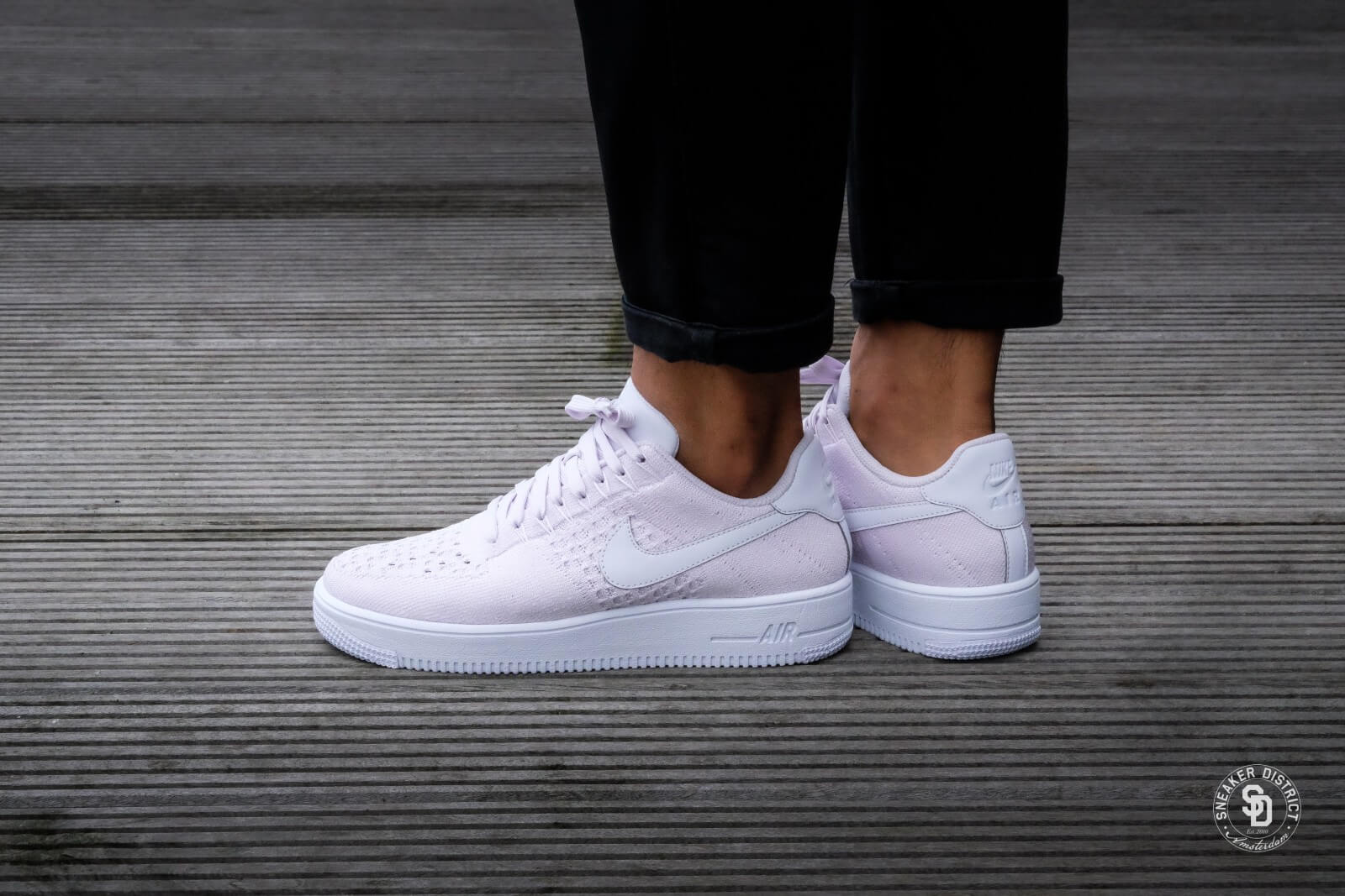 b6b6c3fa98c85 ... Nike Air Force 1 Ultra Flyknit Low Light Violet White - 817 ...