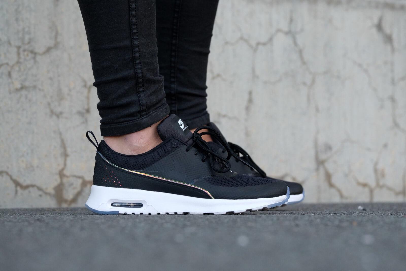 Nike WMNS Air Max Thea Premium Black/ Black- Blue Tint