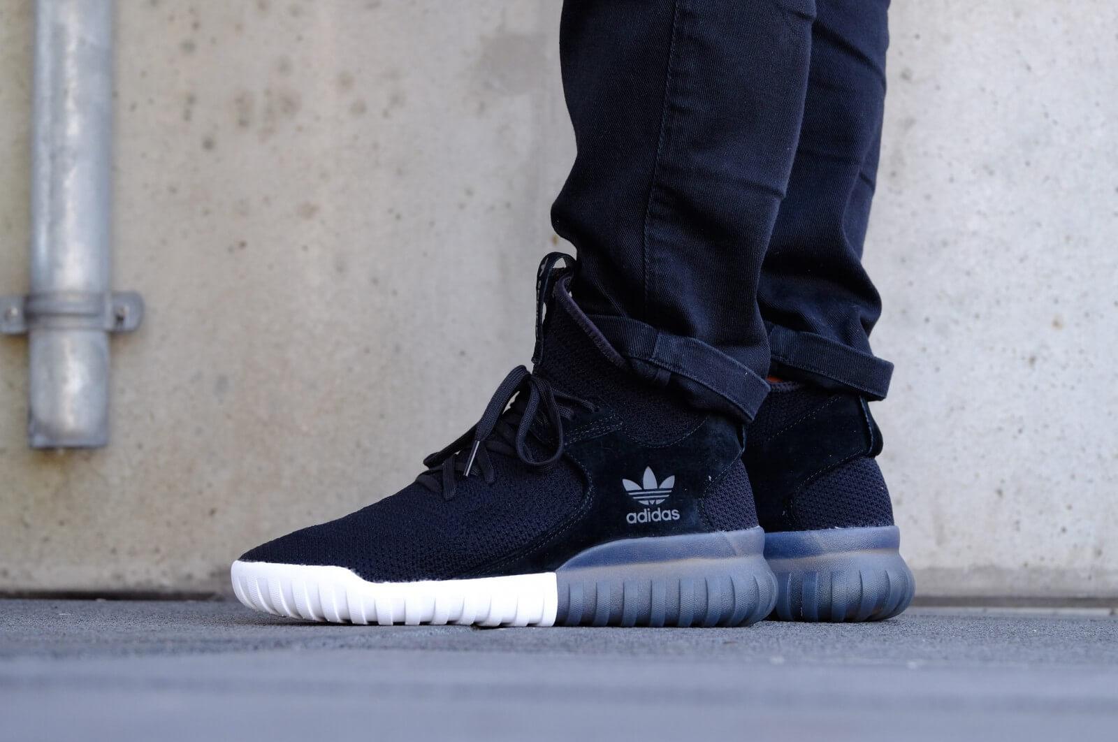 Adidas Tubular X Primeknit Black White