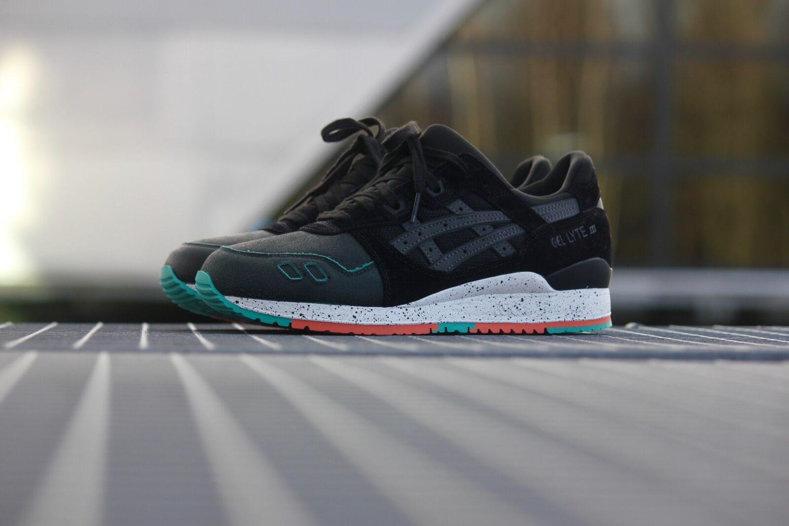 asics sneakers gel lyte iii zwart