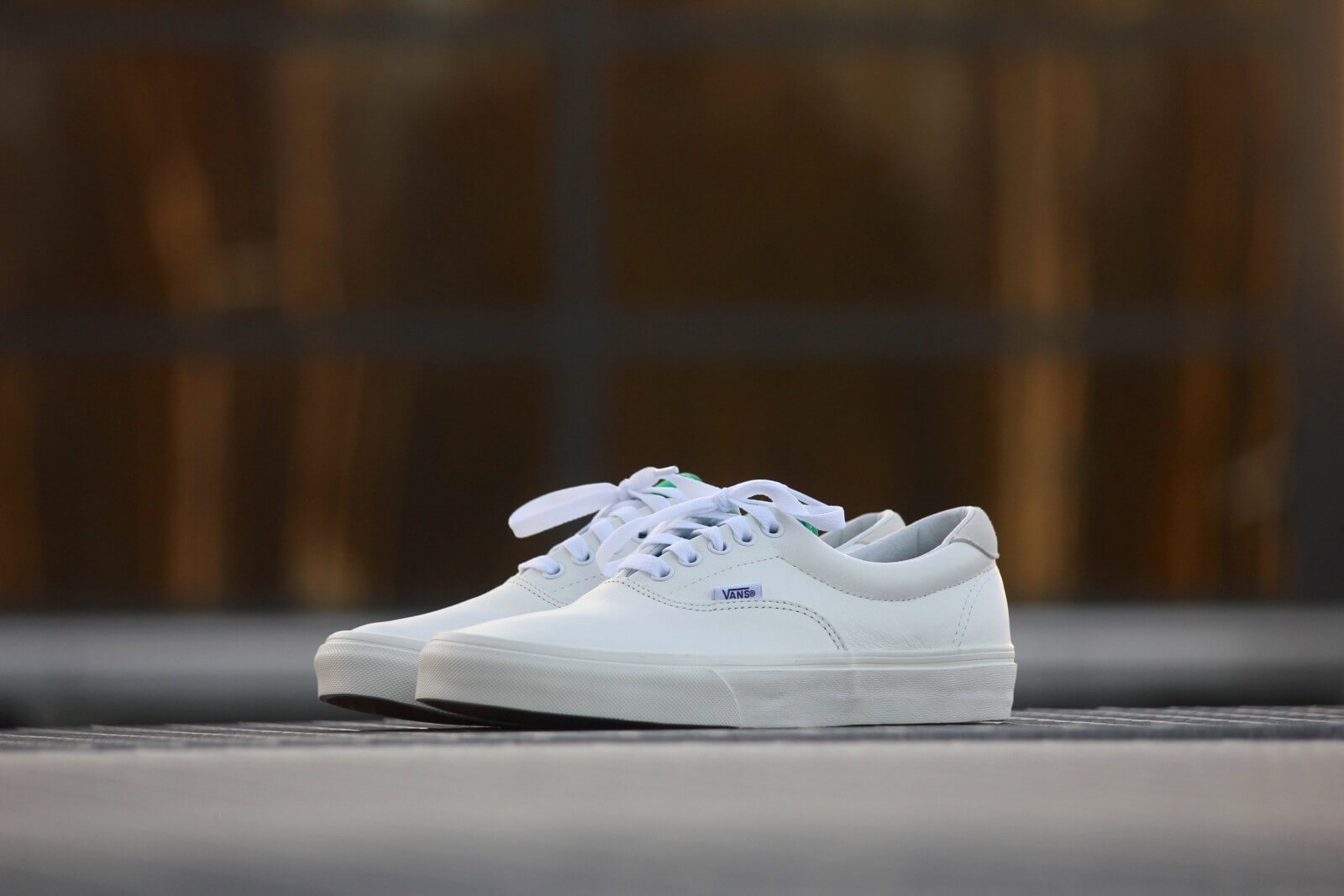 Vans OLD SKOOL VINTAGE SPORT TRUE WHITEKELLY GREEN