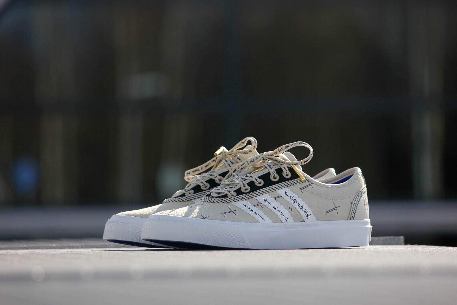 adidas adi ease all white