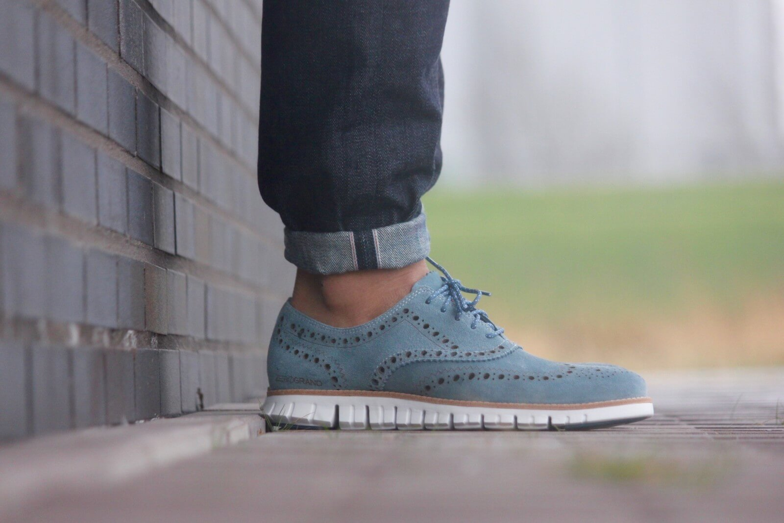 Cole Haan Zerogrand Wing Bayside Blue