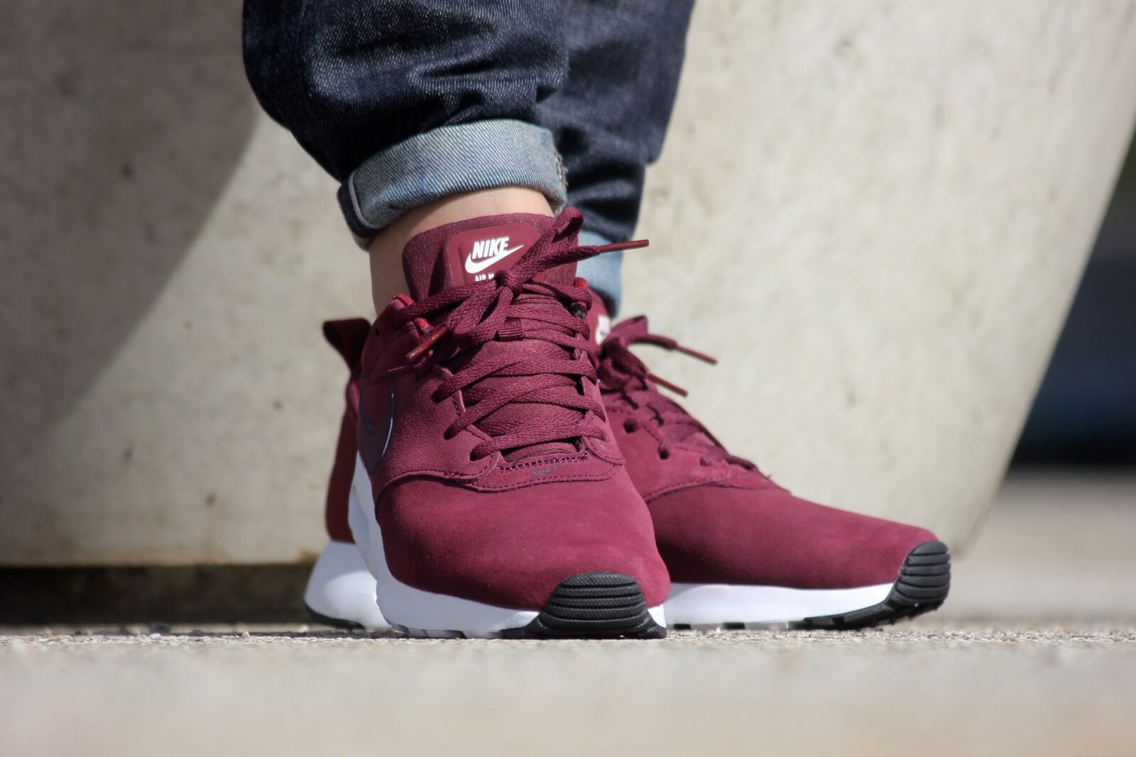 3576039fab ... Nike Air Max Tavas LTR Night Maroon Team Red-Sail ...