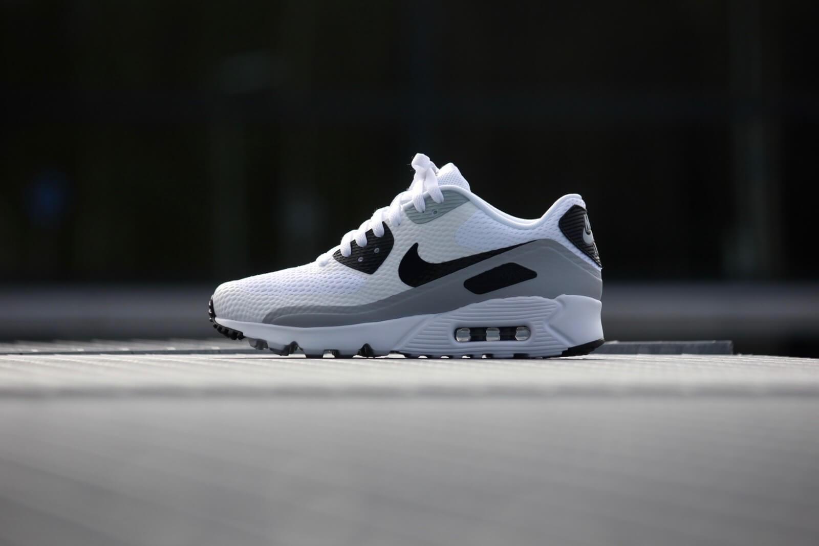 Nike Air max 90 Ultra Essential White/black-wolf grey