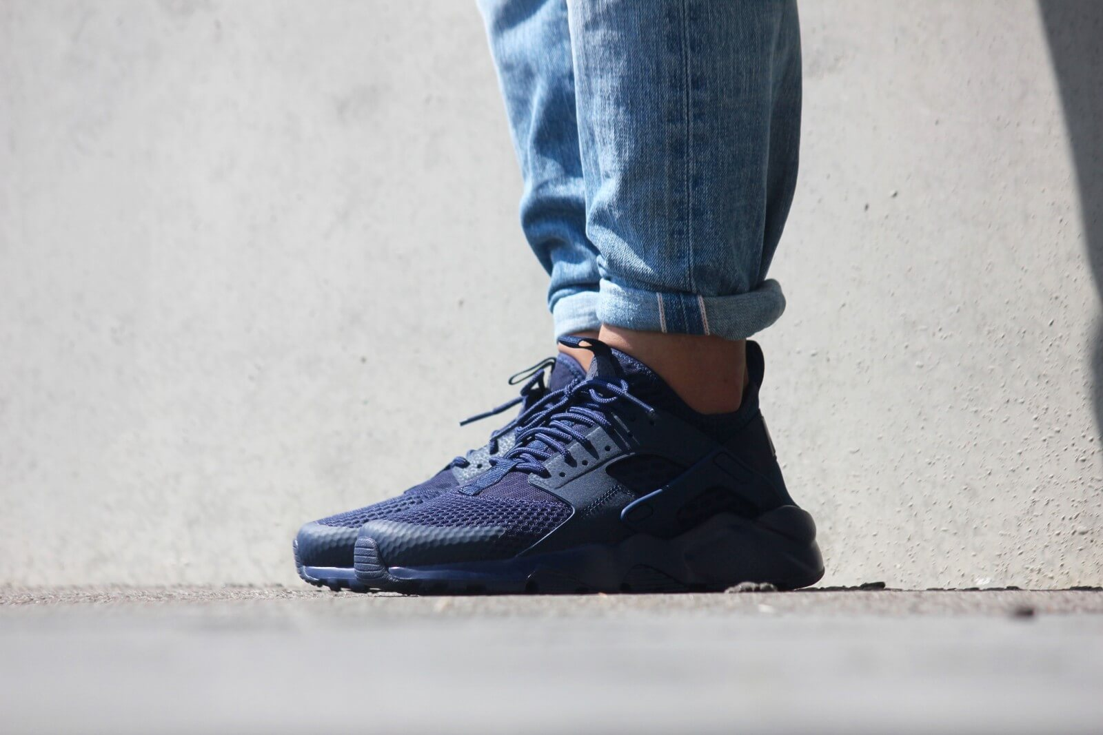nike huarache ultra with jeans