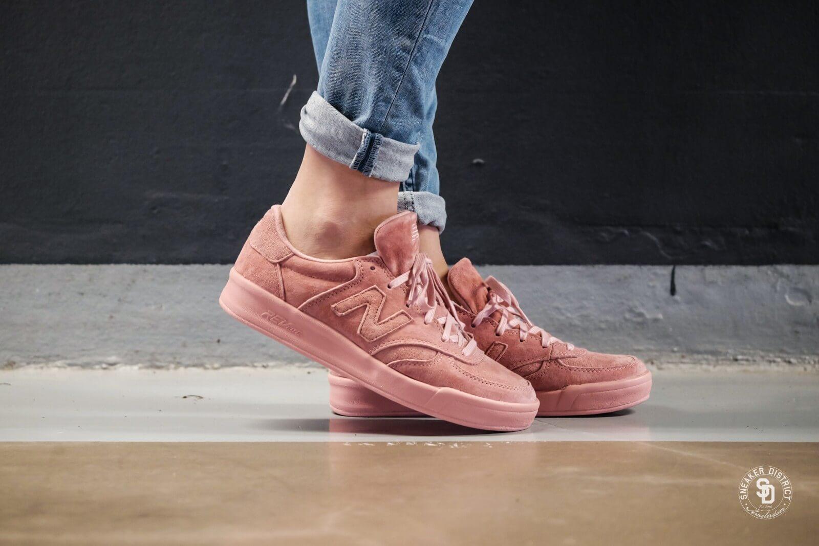 new balance dusted peach