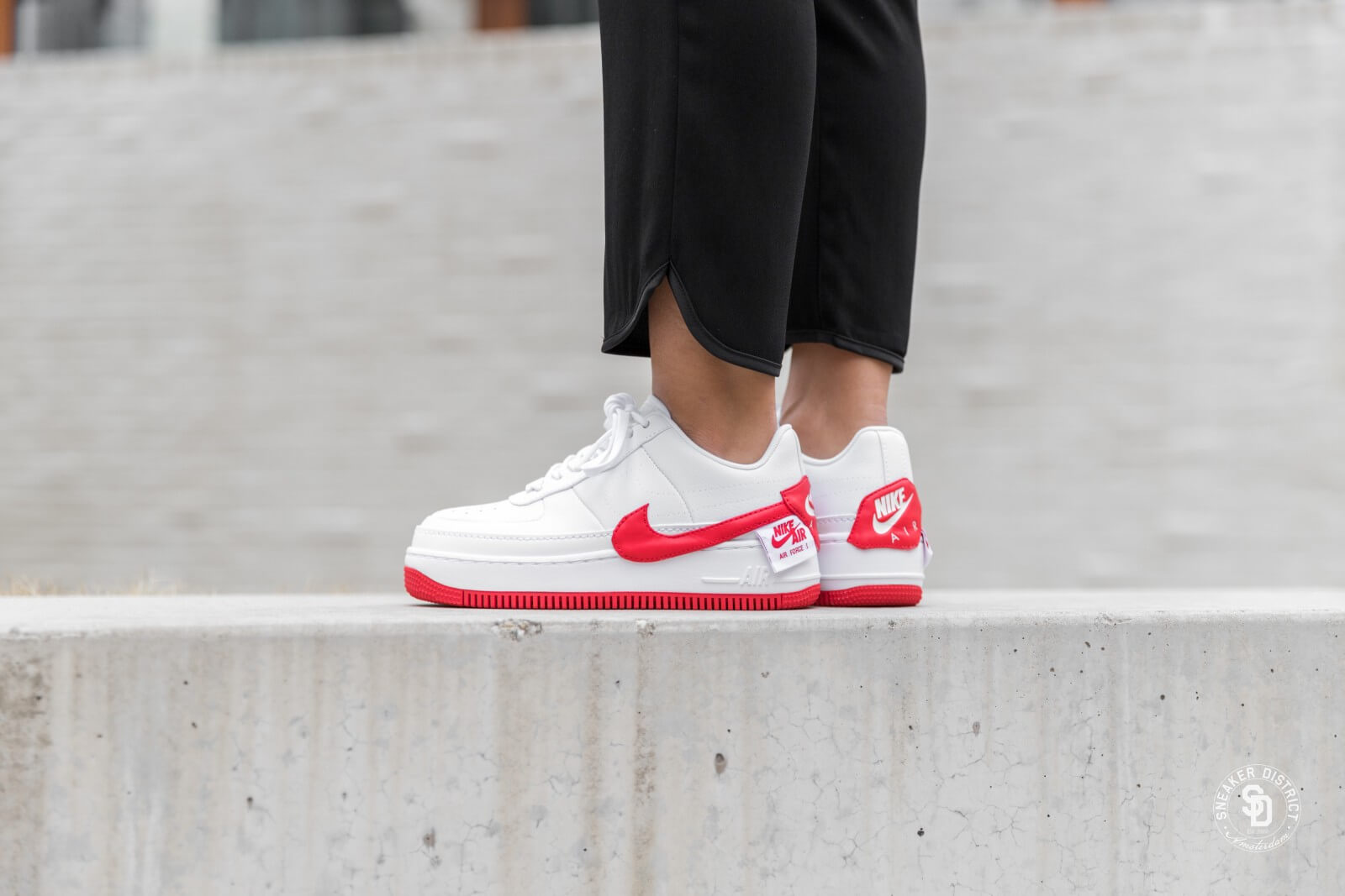 Nike Air Force 1 Jester XX White/University Red - AO1220-106