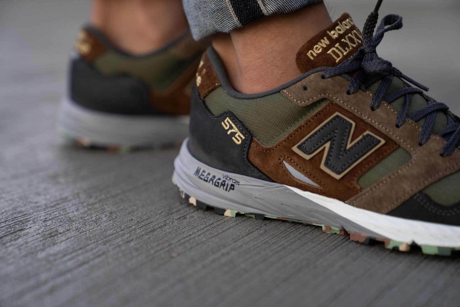 New Balance MTL575SO Camo Pack Green Made in England - 767751-60-12