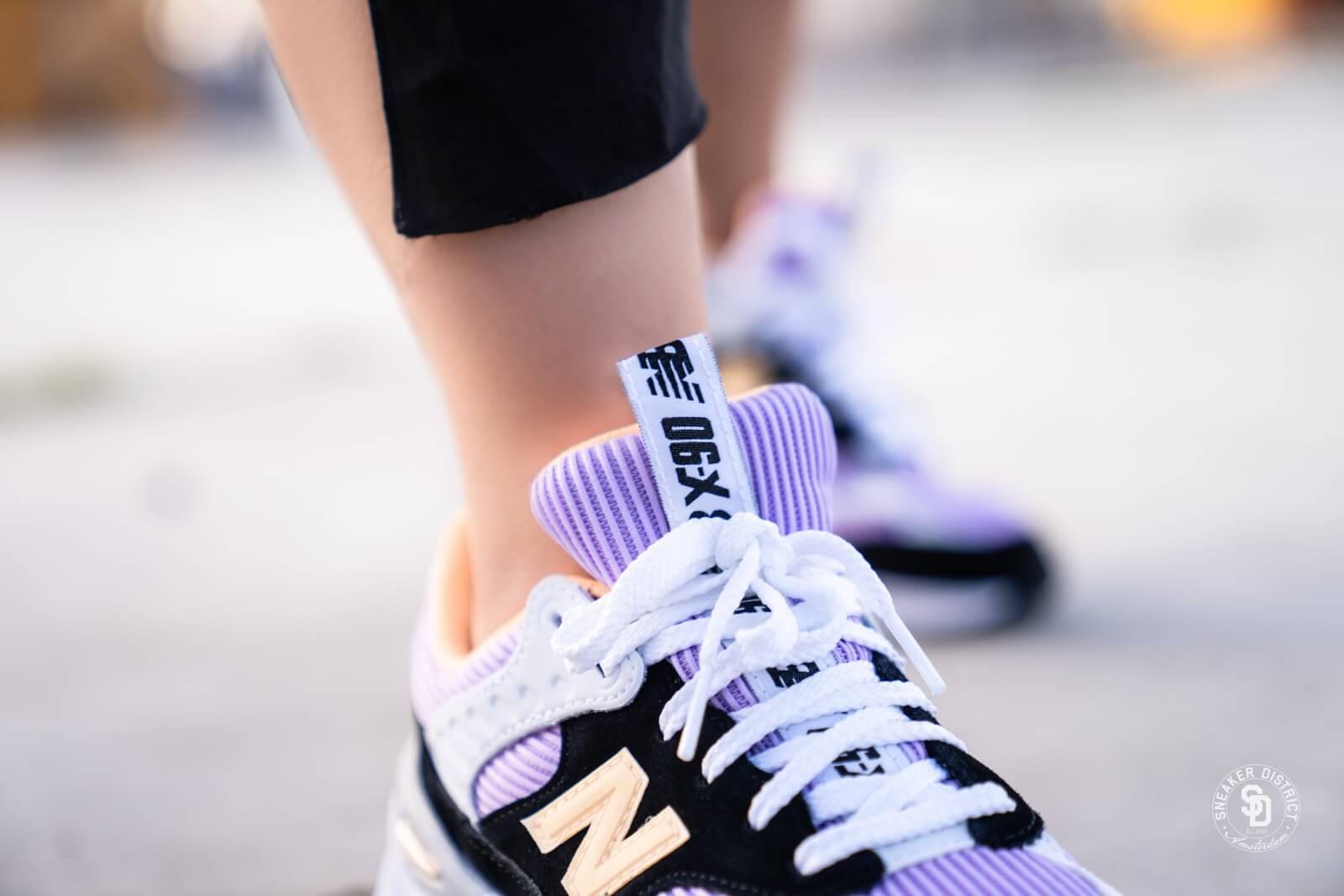 New Balance Women's WSX90TLS Black/Violet